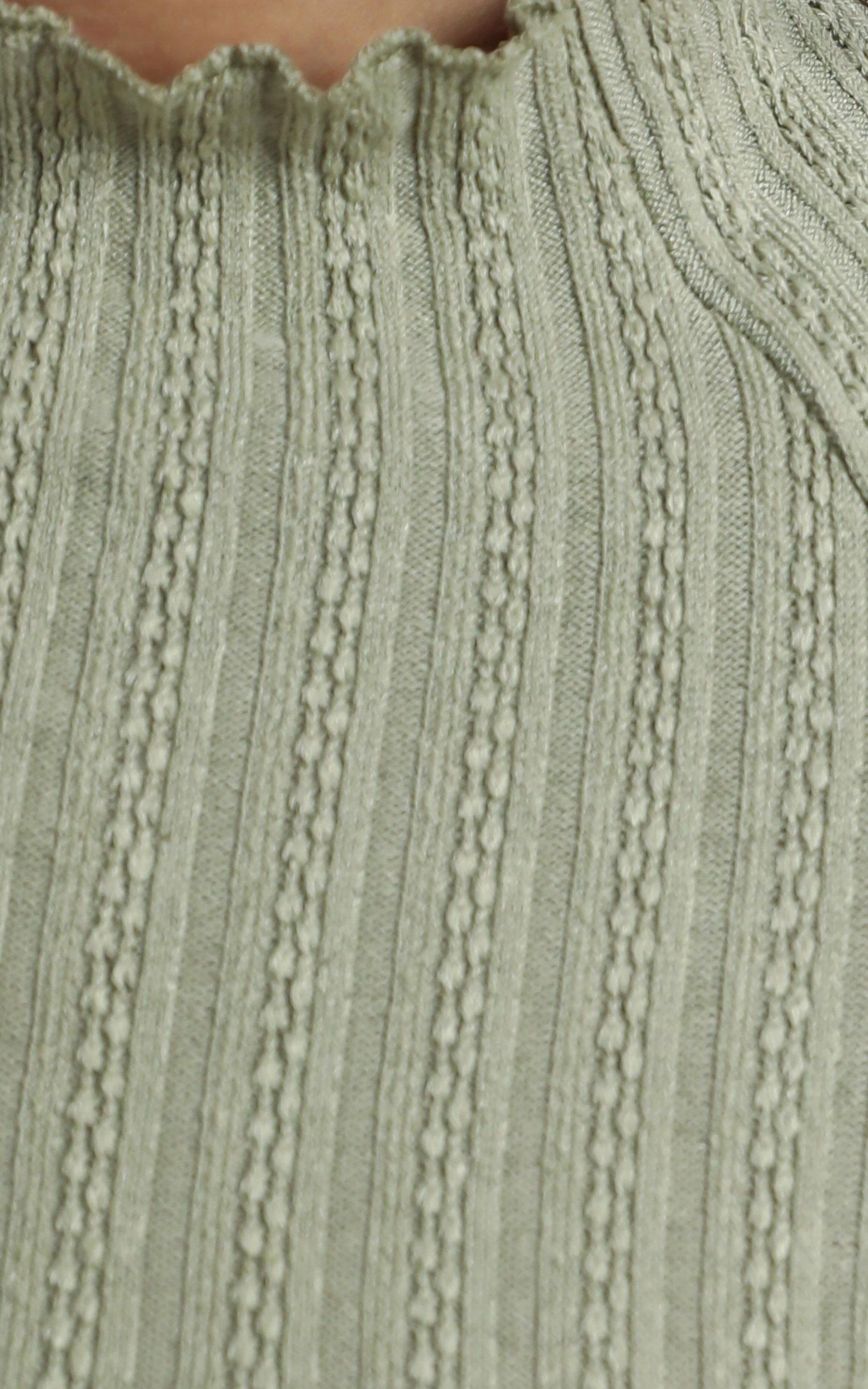 Jonah Dress in Khaki - 12 (L), Khaki, hi-res image number null