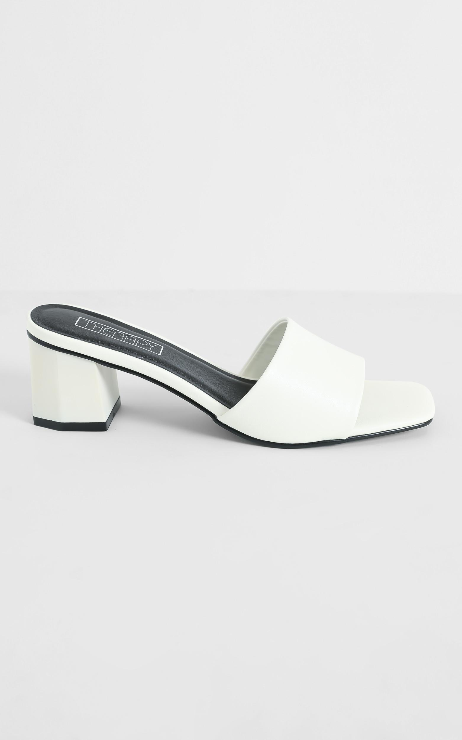 Therapy - Nyla Heels in White - 5, White, hi-res image number null