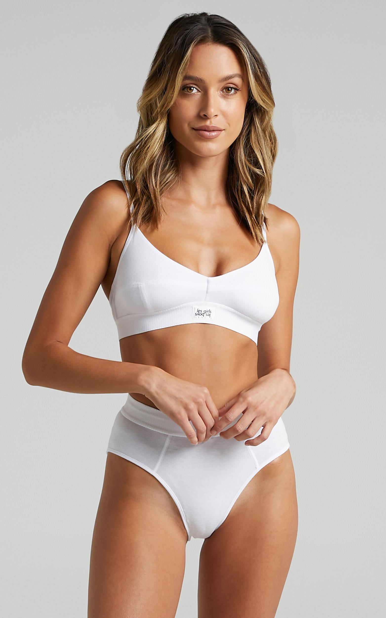 Les Girls Les Boys - Ultimate Comfort Soft Bra in White - XS, White, hi-res image number null