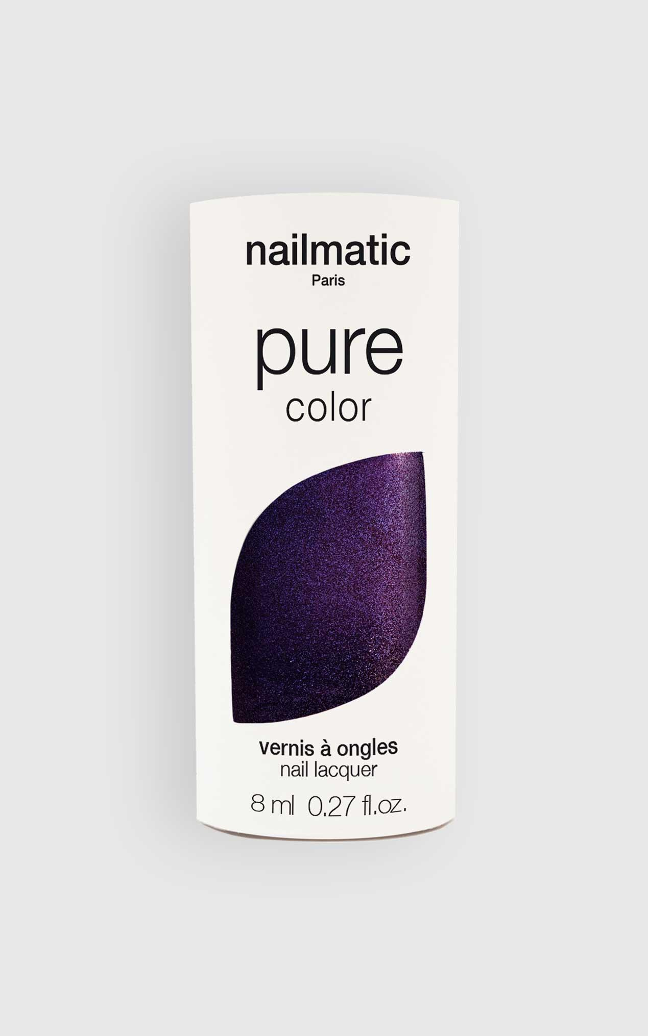 Nailmatic - Pure Color Prince Nail Polish in Purple Shimmer, Purple, hi-res image number null