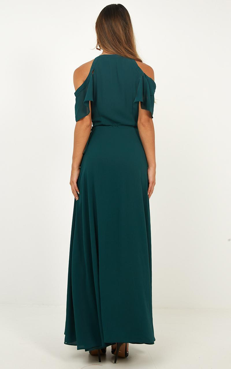 Give You My All Dress In emerald - 6 (XS), Green, hi-res image number null