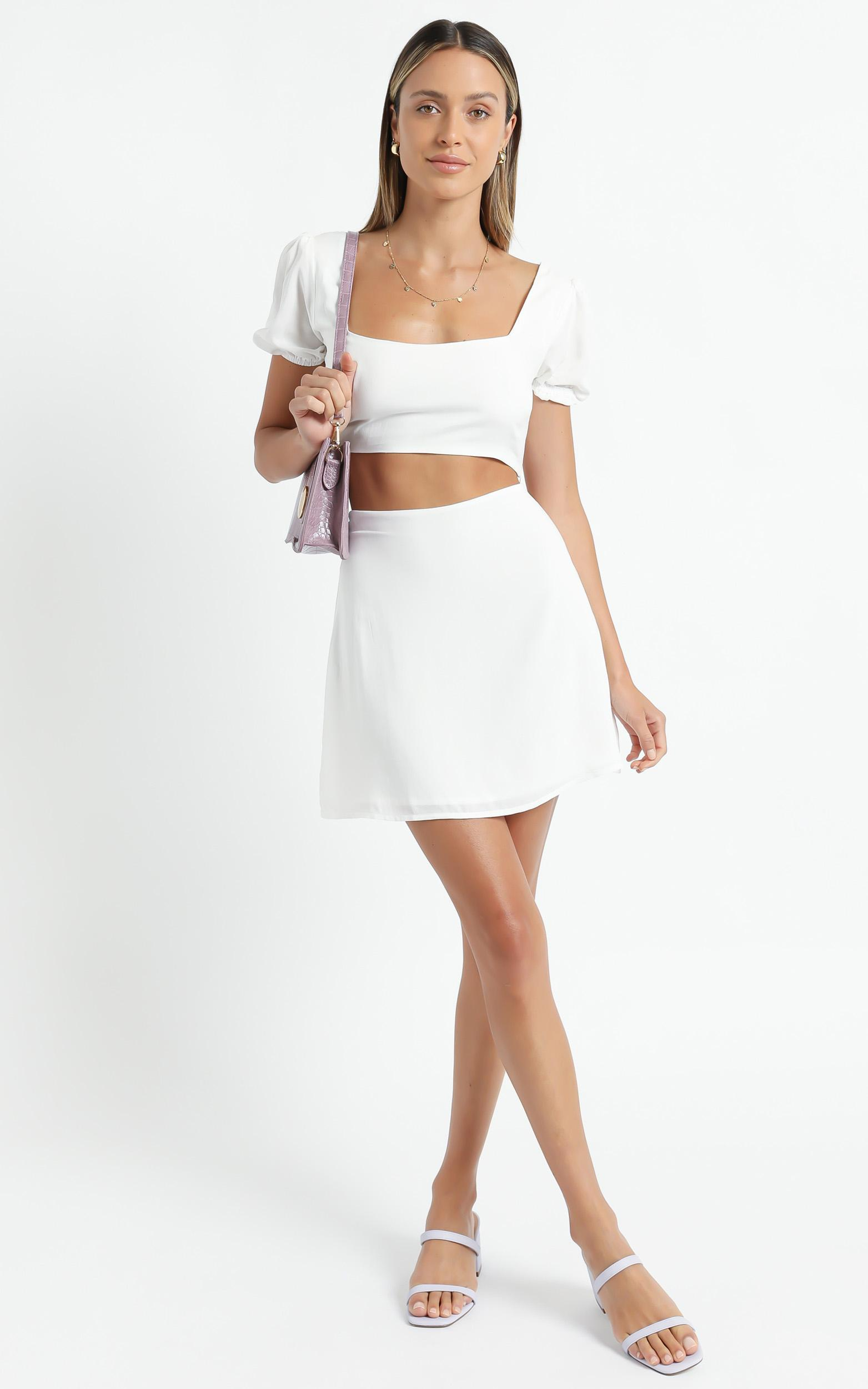 Artemis Two Piece set in White - 6 (XS), White, hi-res image number null