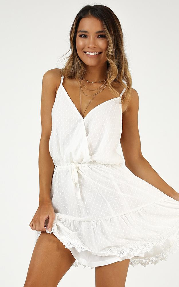 La Parisienne Dress in white - 14 (XL), White, hi-res image number null