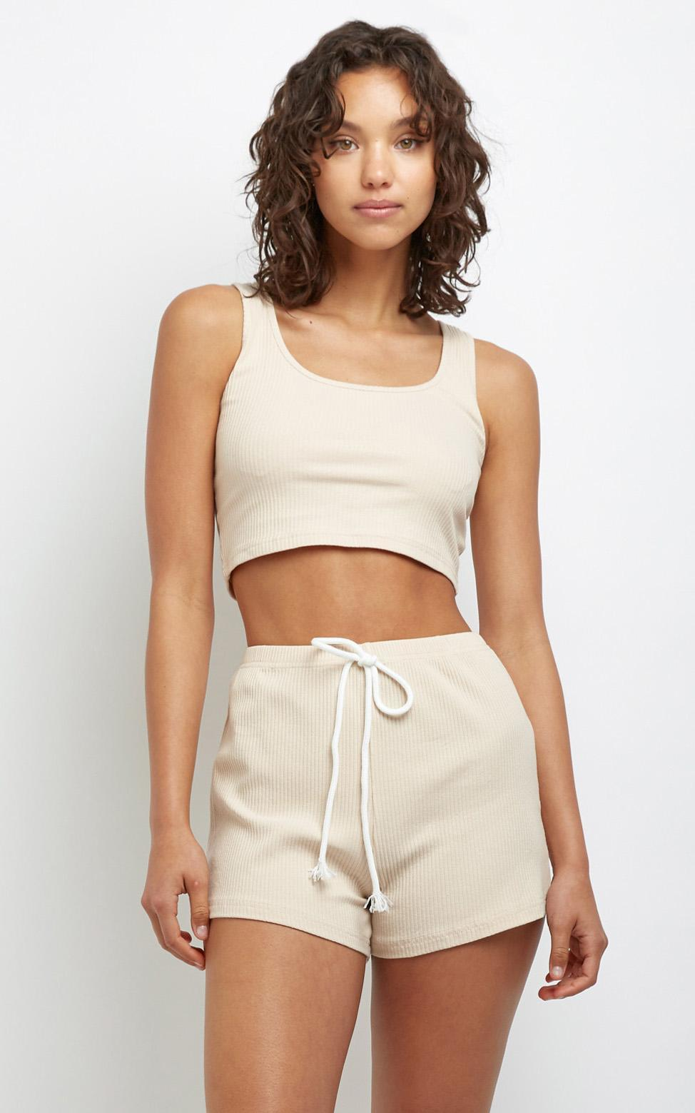 Carson Two Piece Set in Beige - 6 (XS), Beige, hi-res image number null
