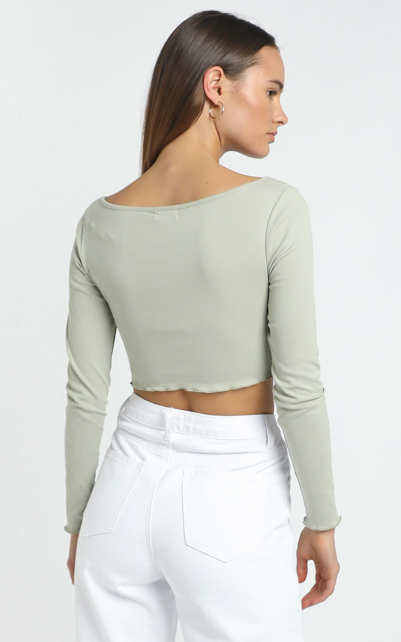 Antonio Top in Light Khaki - 12 (L), Khaki, hi-res image number null