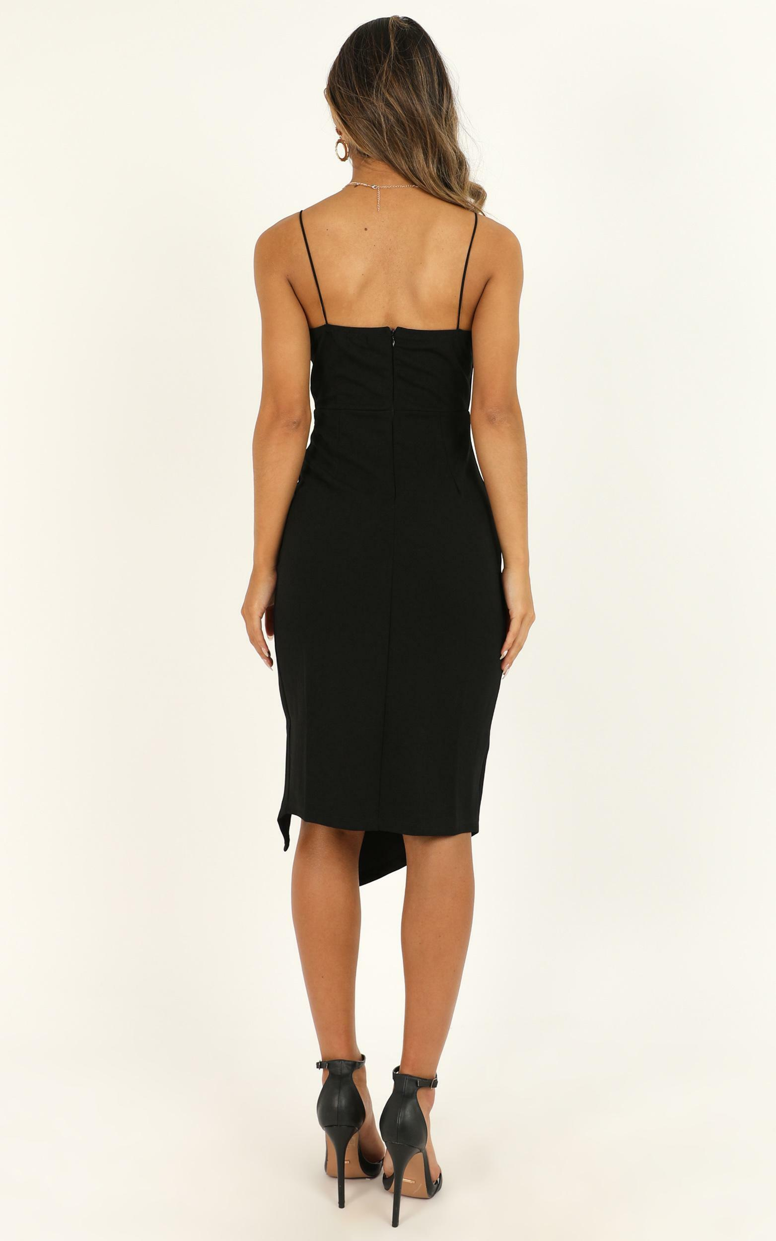 Life Changing Dress In Black - 4 (XXS), Black, hi-res image number null