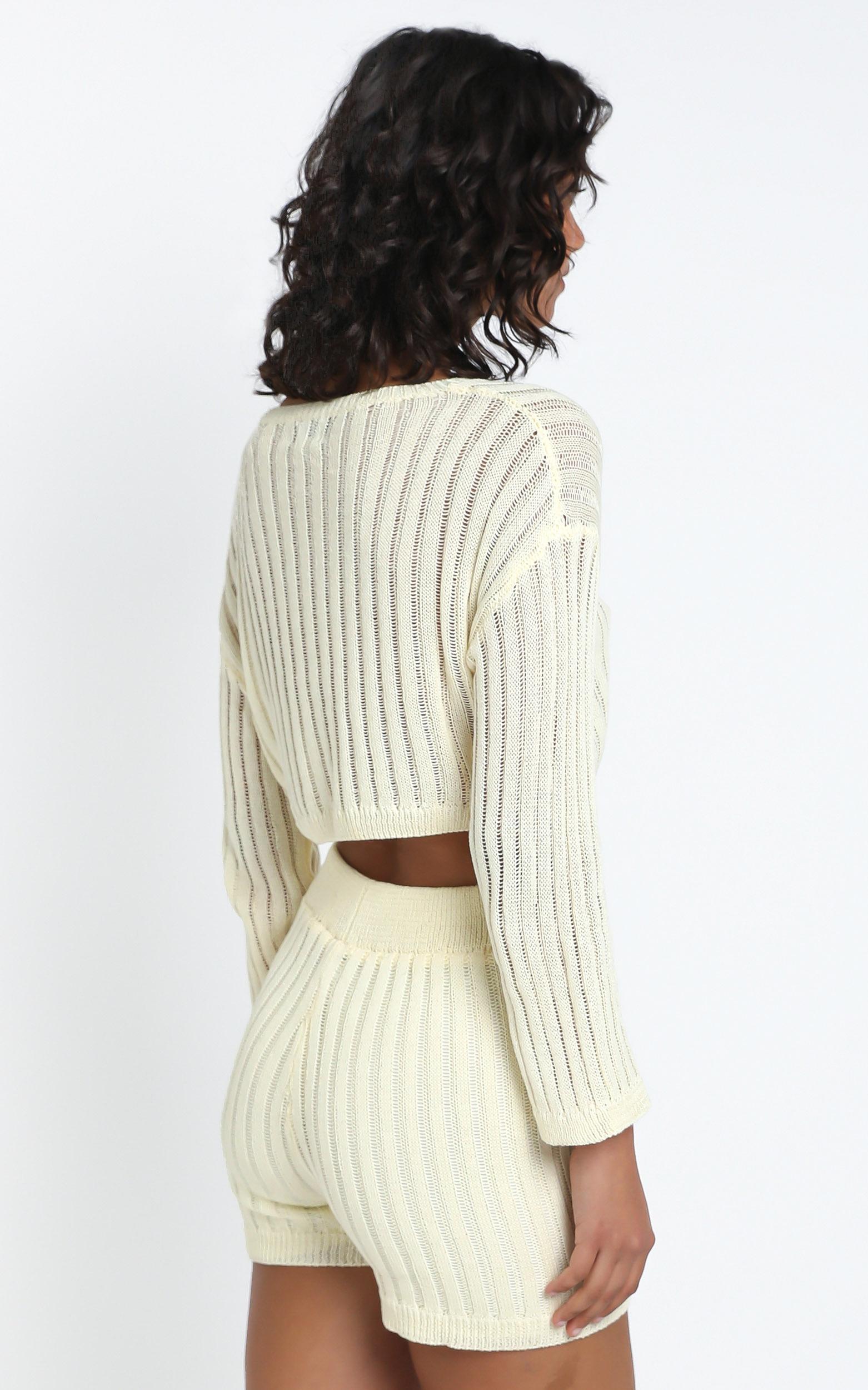 Divina Shorts in Cream - L, Cream, hi-res image number null