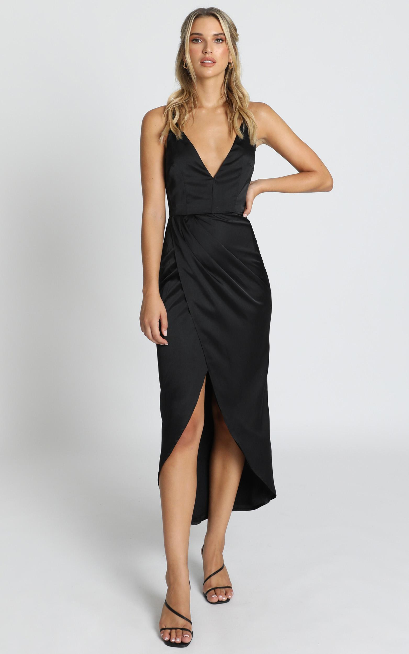 Shes A Dreamer Dress in black - 14 (XL), Black, hi-res image number null