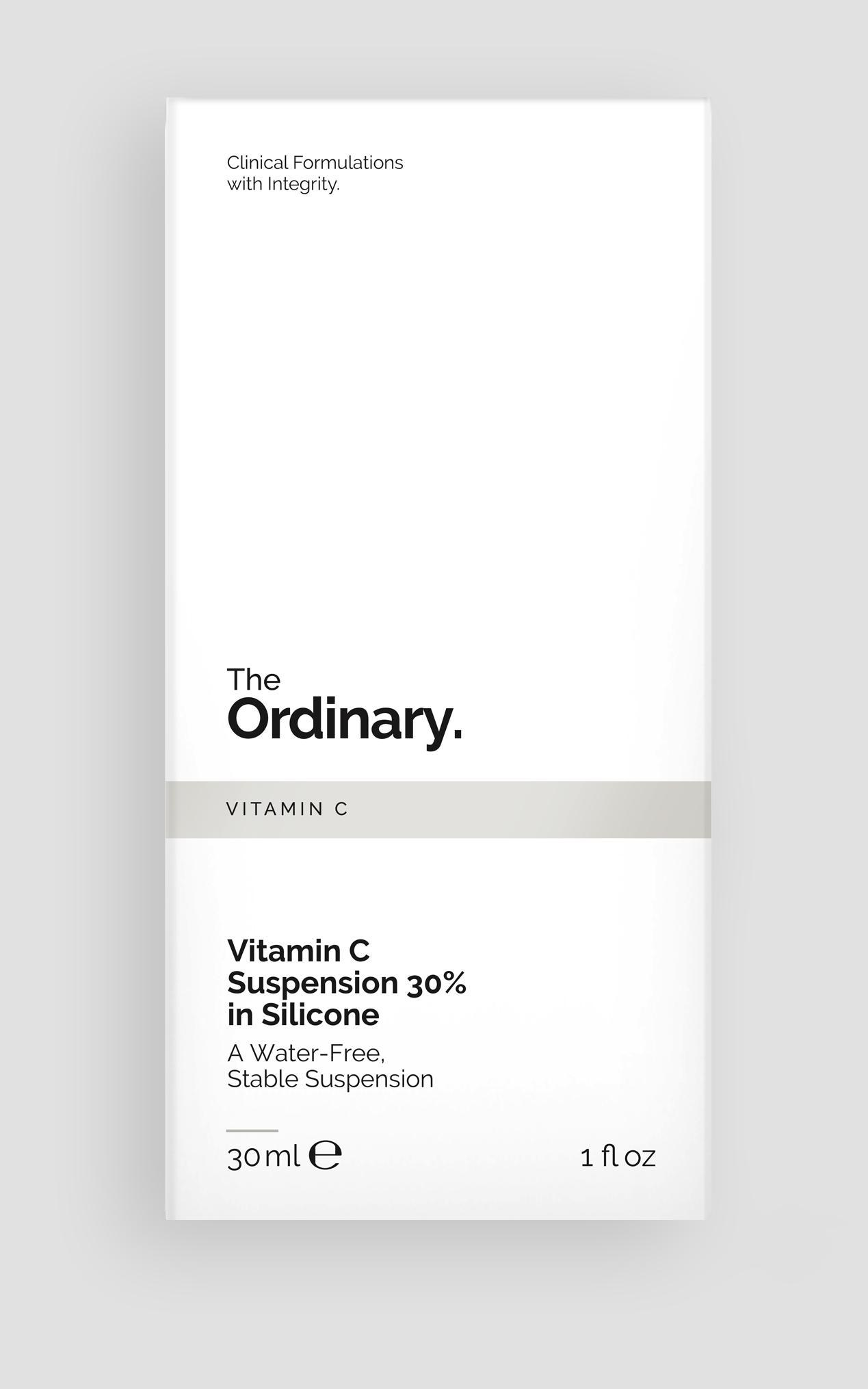The Ordinary - Vitamin C Suspension 30% in Silicone - 30ml , Grey, hi-res image number null