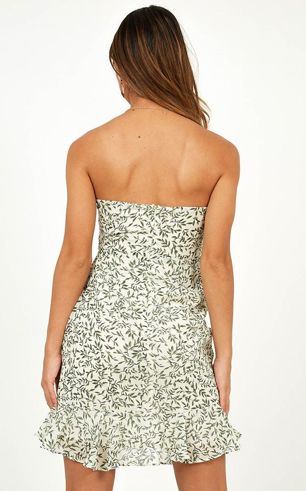 Sunny Days Dress In white floral - 12 (L), White, hi-res image number null