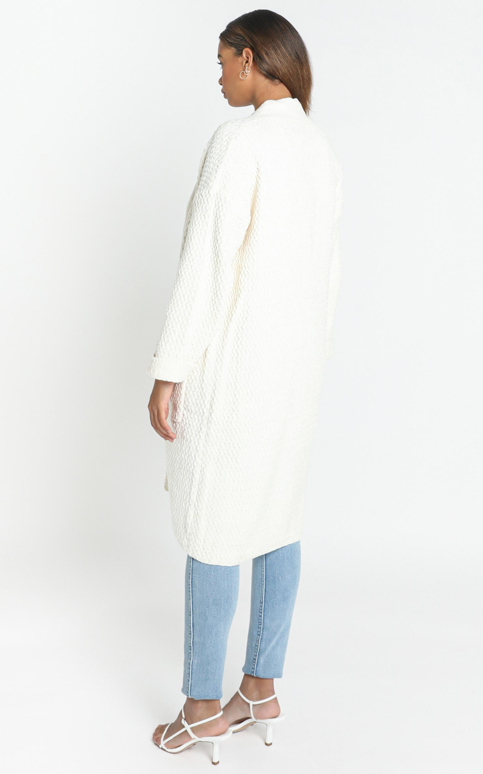 Gwendolyn Cardigan in Cream - M/L, CRE1, hi-res image number null