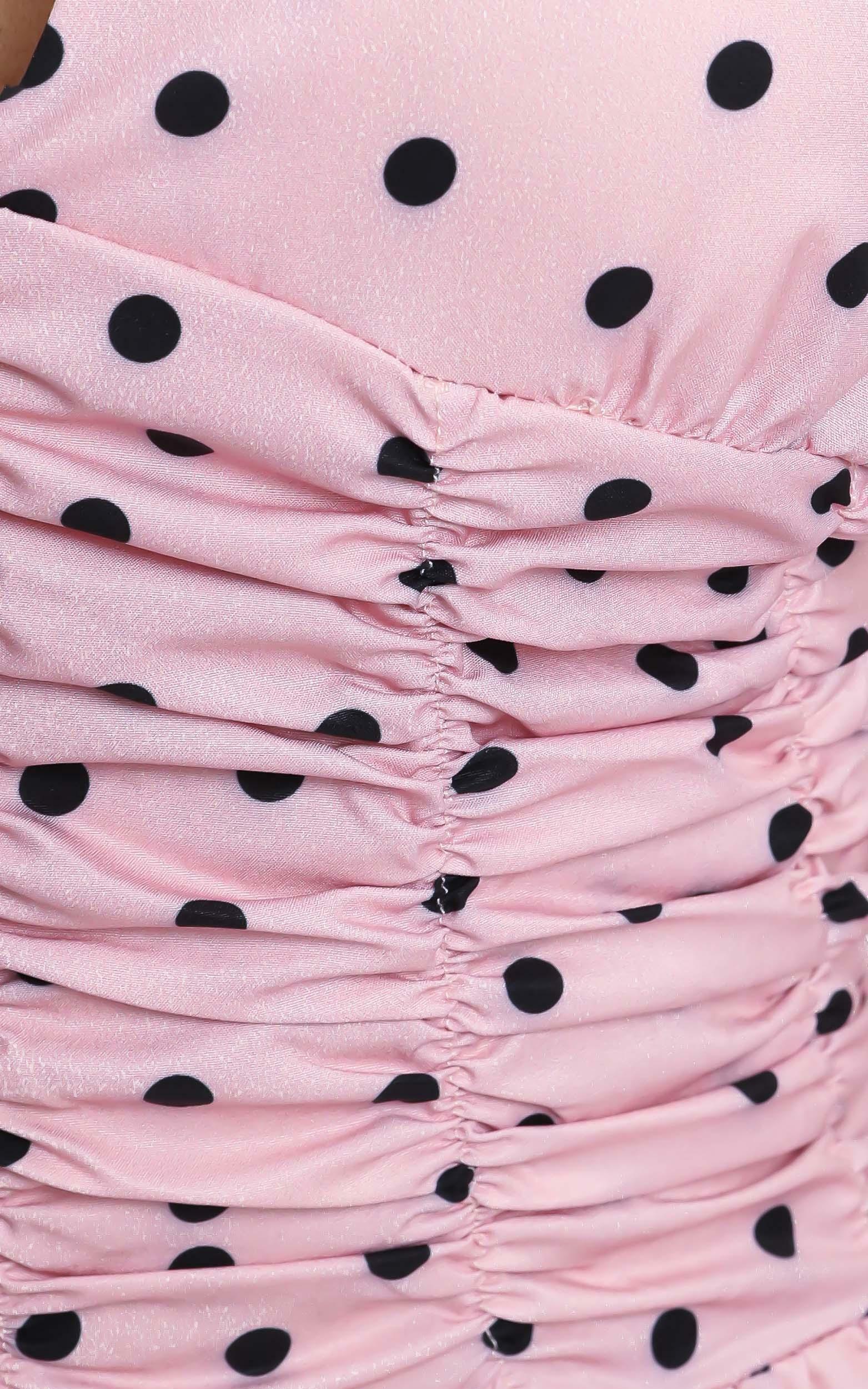Walton Top in Pink Spot - 12 (L), Pink, hi-res image number null