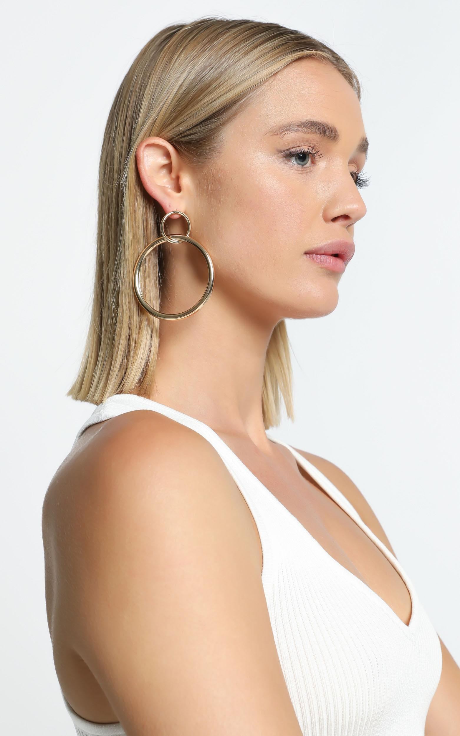 Jory Earrings in Gold, , hi-res image number null