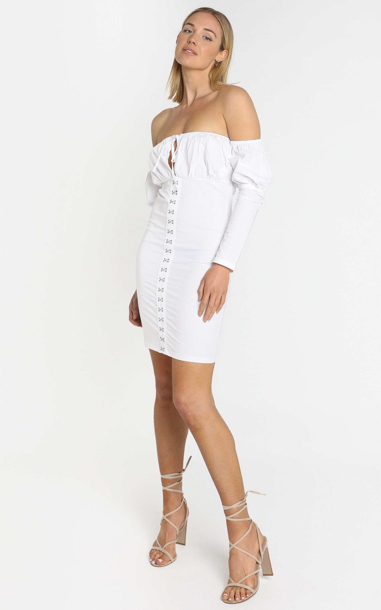 Have It All Dress in white - 8 (S), White, hi-res image number null