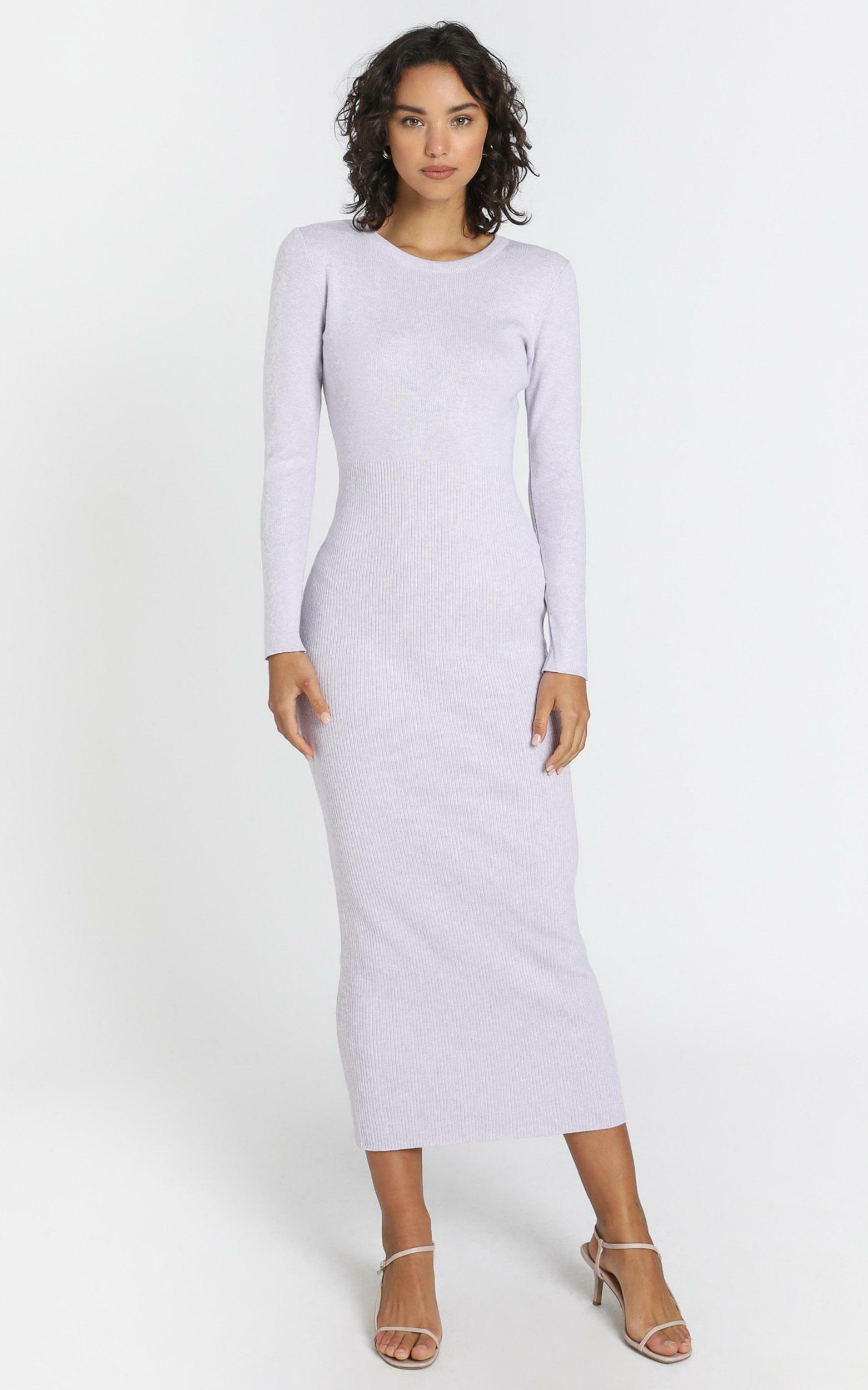 Nastia Dress in Lilac - 8 (S), Purple, hi-res image number null