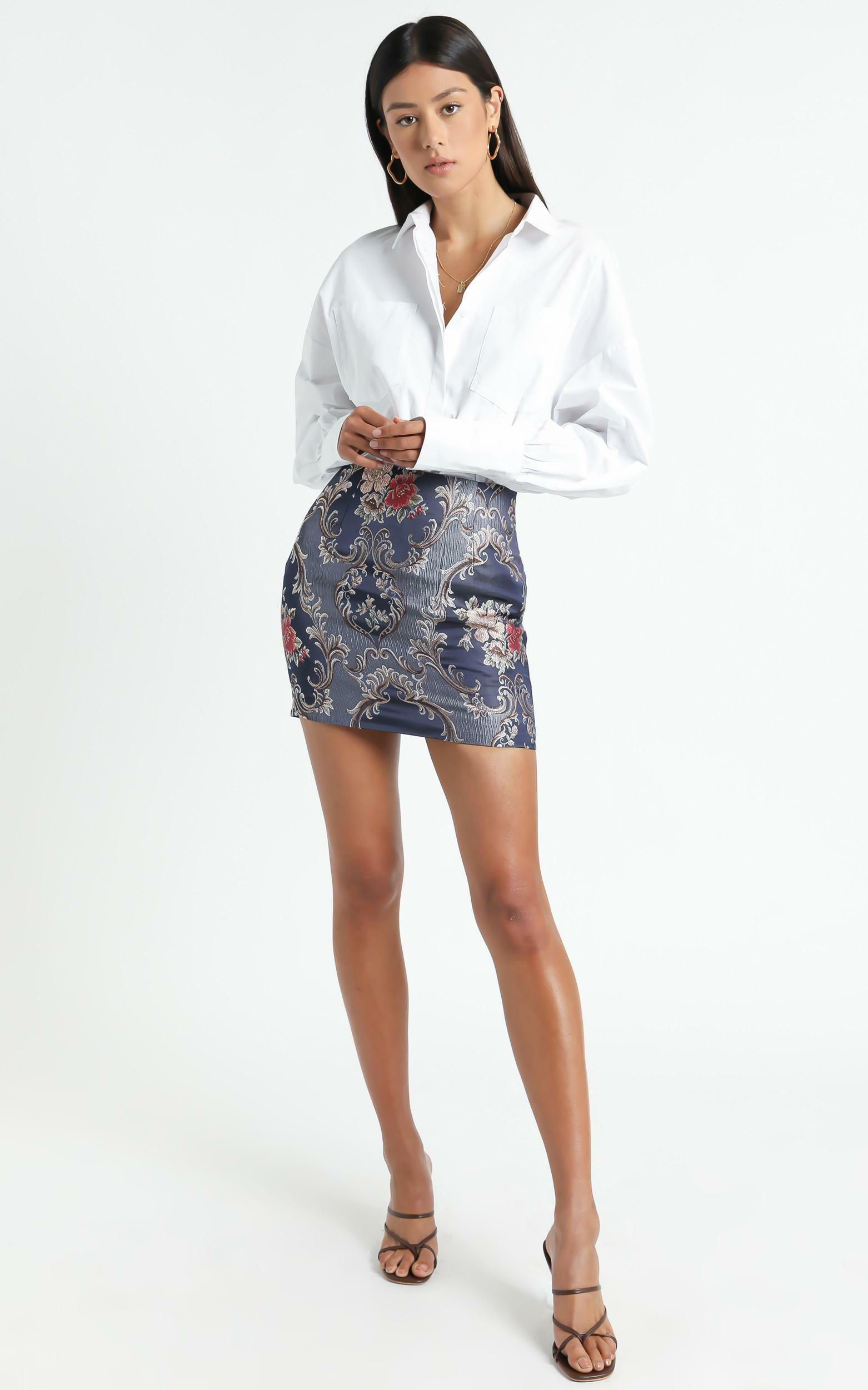 The Carrie Top in White - 04, WHT1, hi-res image number null