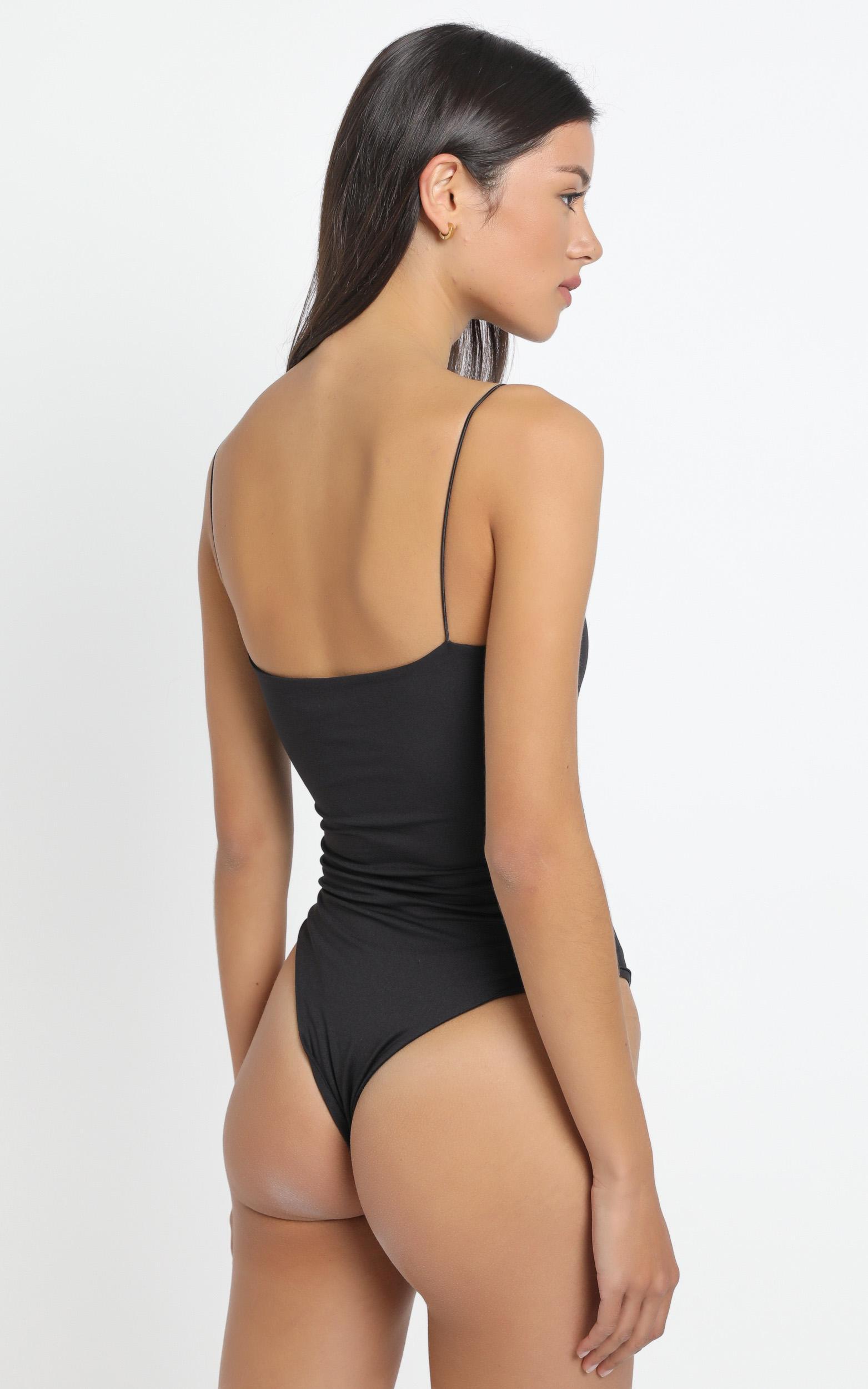 Baylee Bodysuit in Black - 12 (L), Black, hi-res image number null
