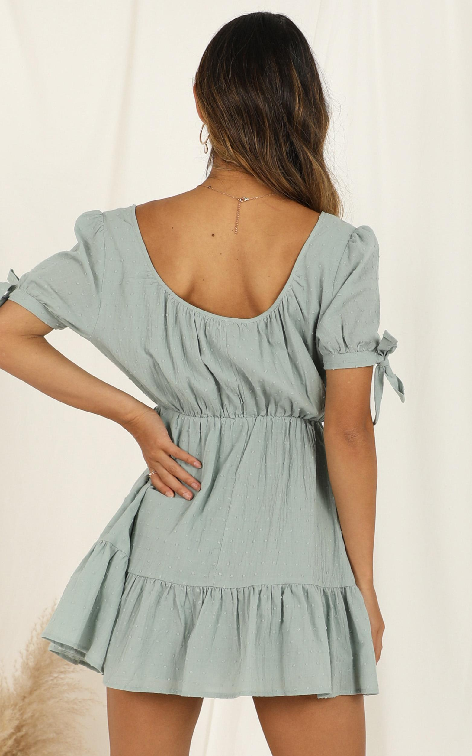 Small Moments Dress in sage - 20 (XXXXL), Sage, hi-res image number null