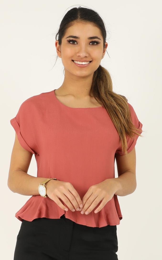 Purposeful Top in dusty rose - 12 (L), Pink, hi-res image number null