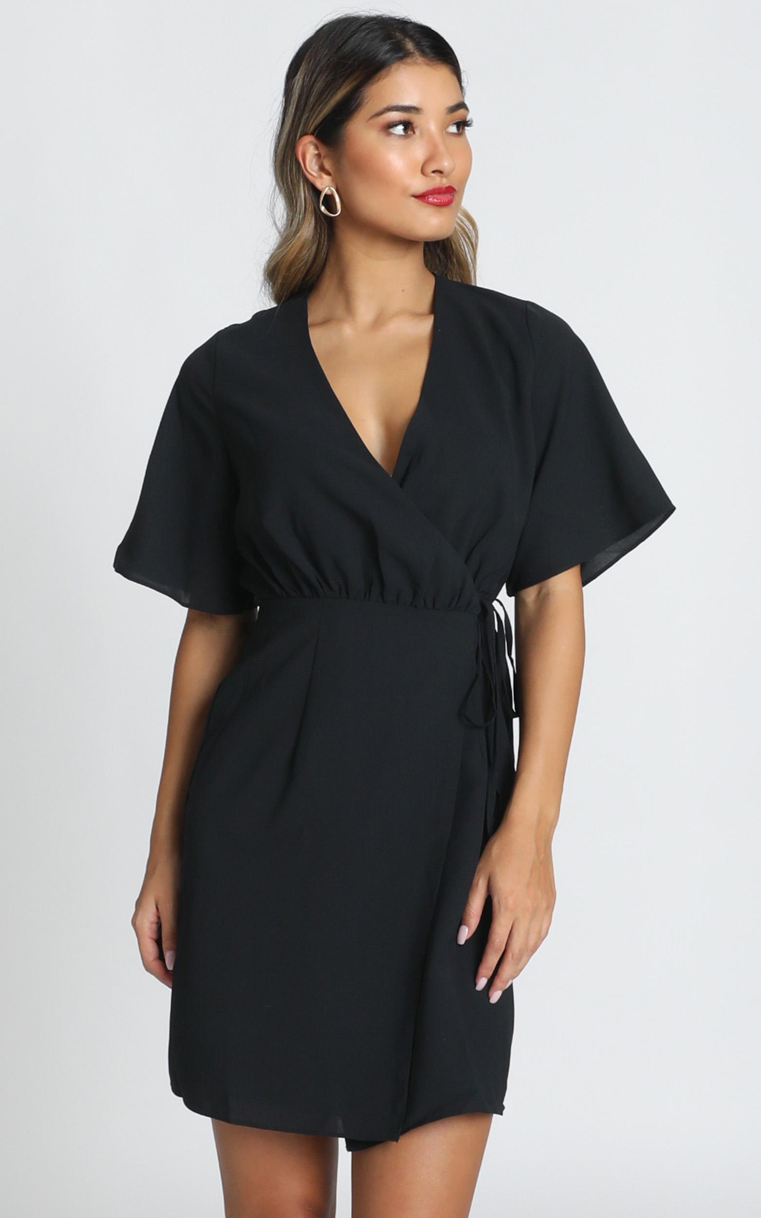 New Memo Dress in black - 20 (XXXXL), Black, hi-res image number null