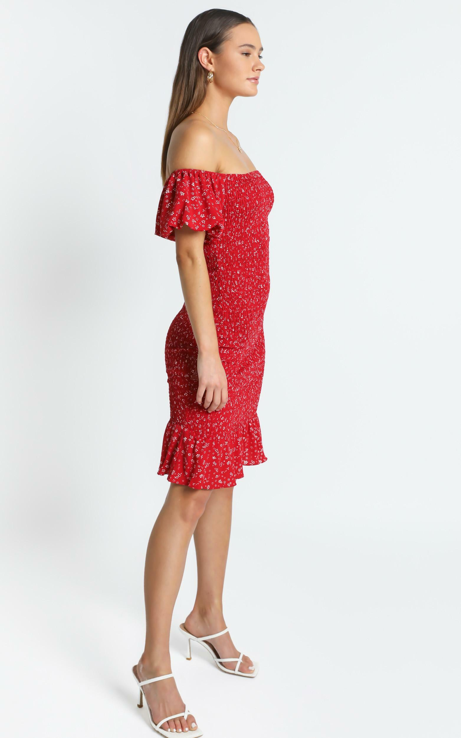 Margaux Dress in Red - 6 (XS), RED1, hi-res image number null