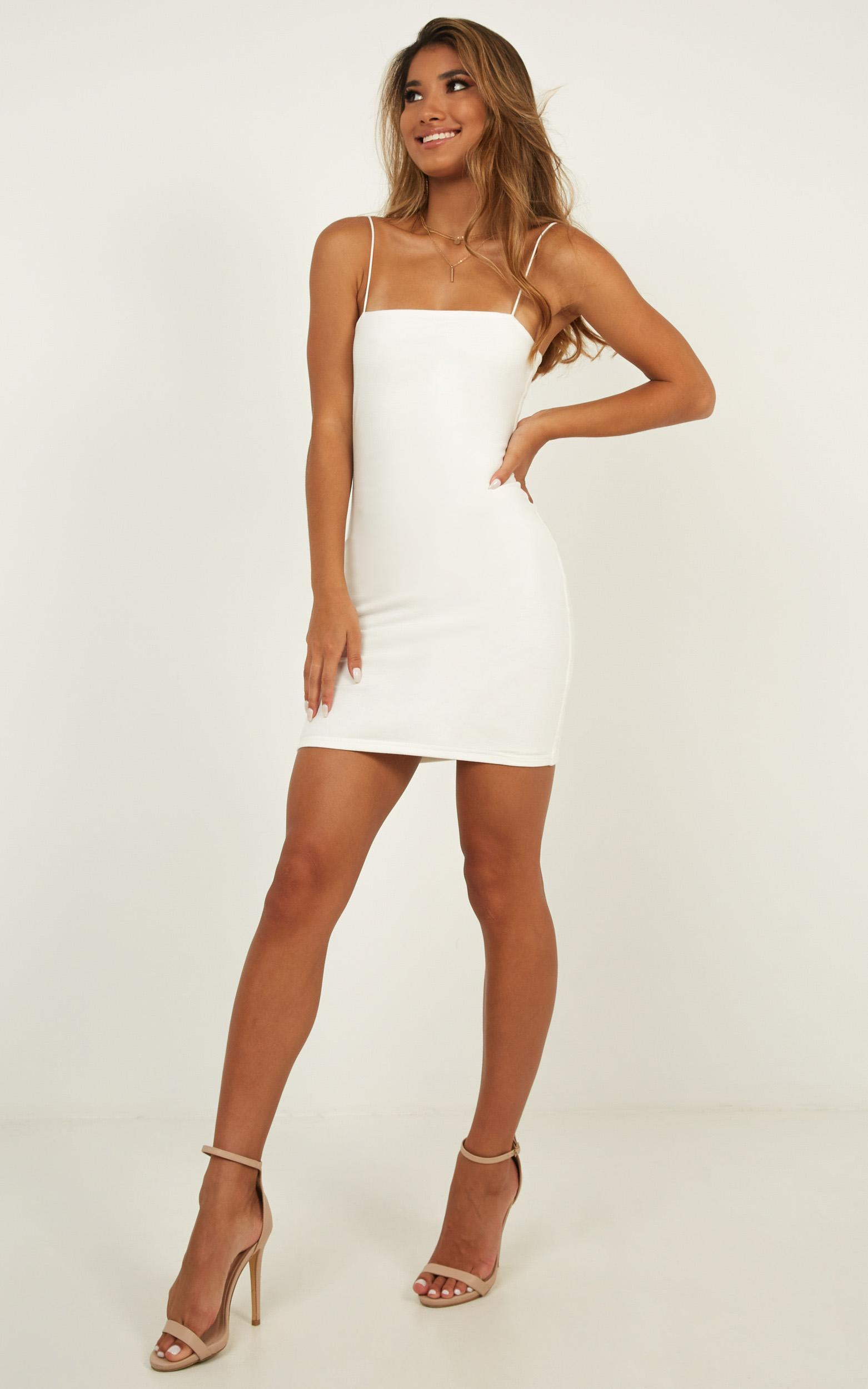 Make You Mine dress in white - 14 (XL), White, hi-res image number null