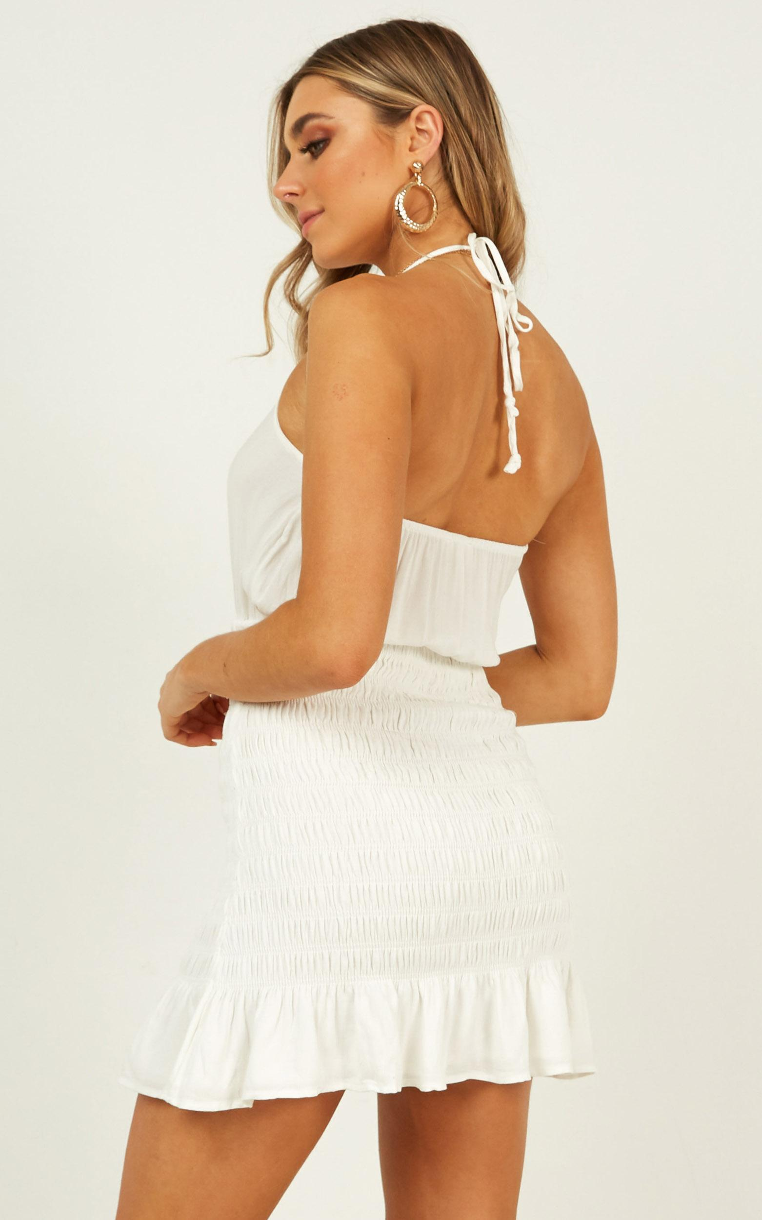 Pearl River dress in white - 12 (L), White, hi-res image number null