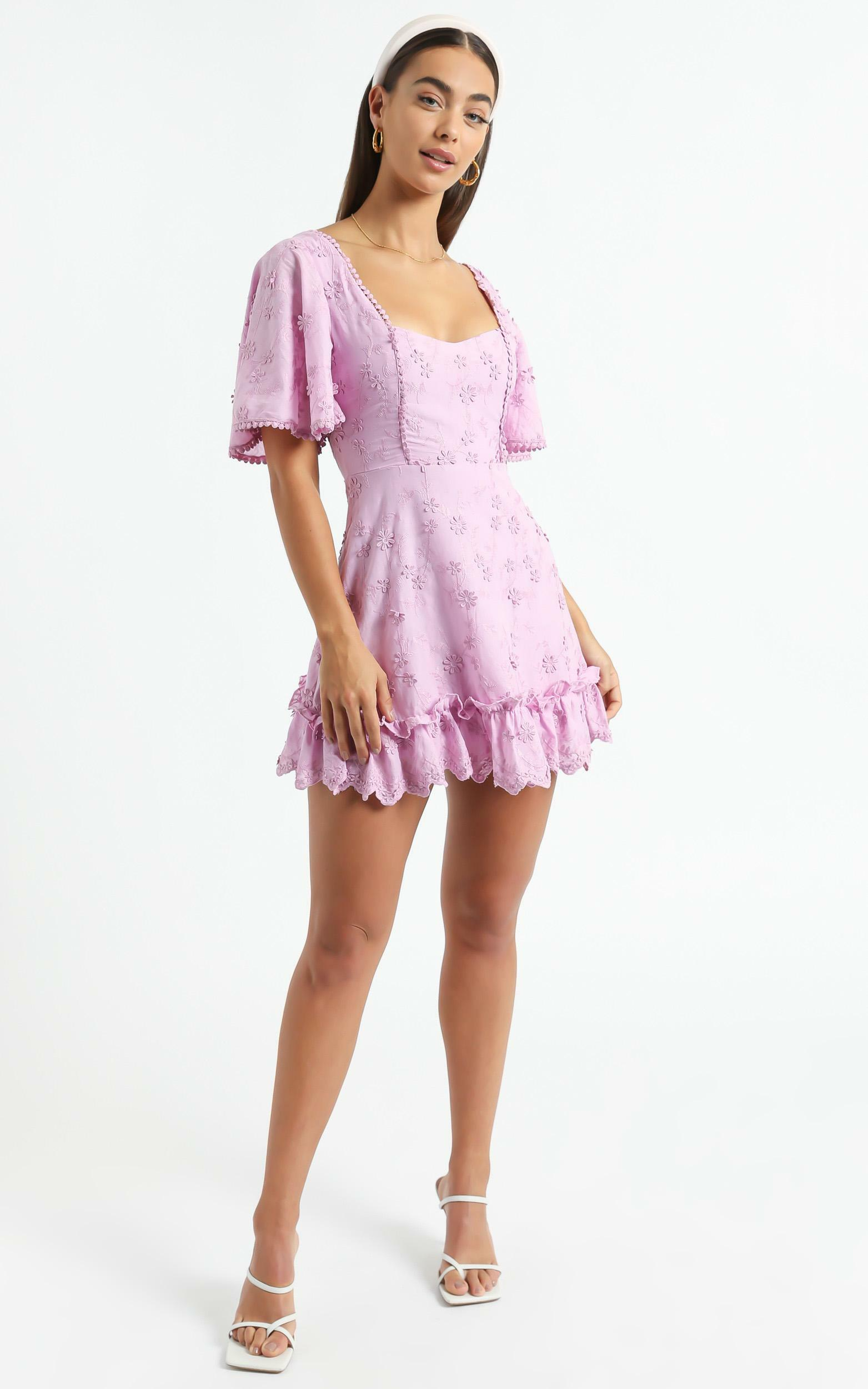 Fancy A Spritz Dress in  Lilac - 4 (XXS), Purple, hi-res image number null