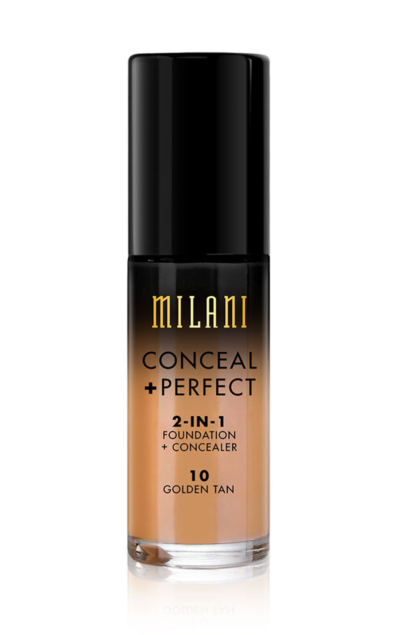 Milani - Conceal And Perfect 2-in-1 Foundation in golden tan, Beige, hi-res image number null
