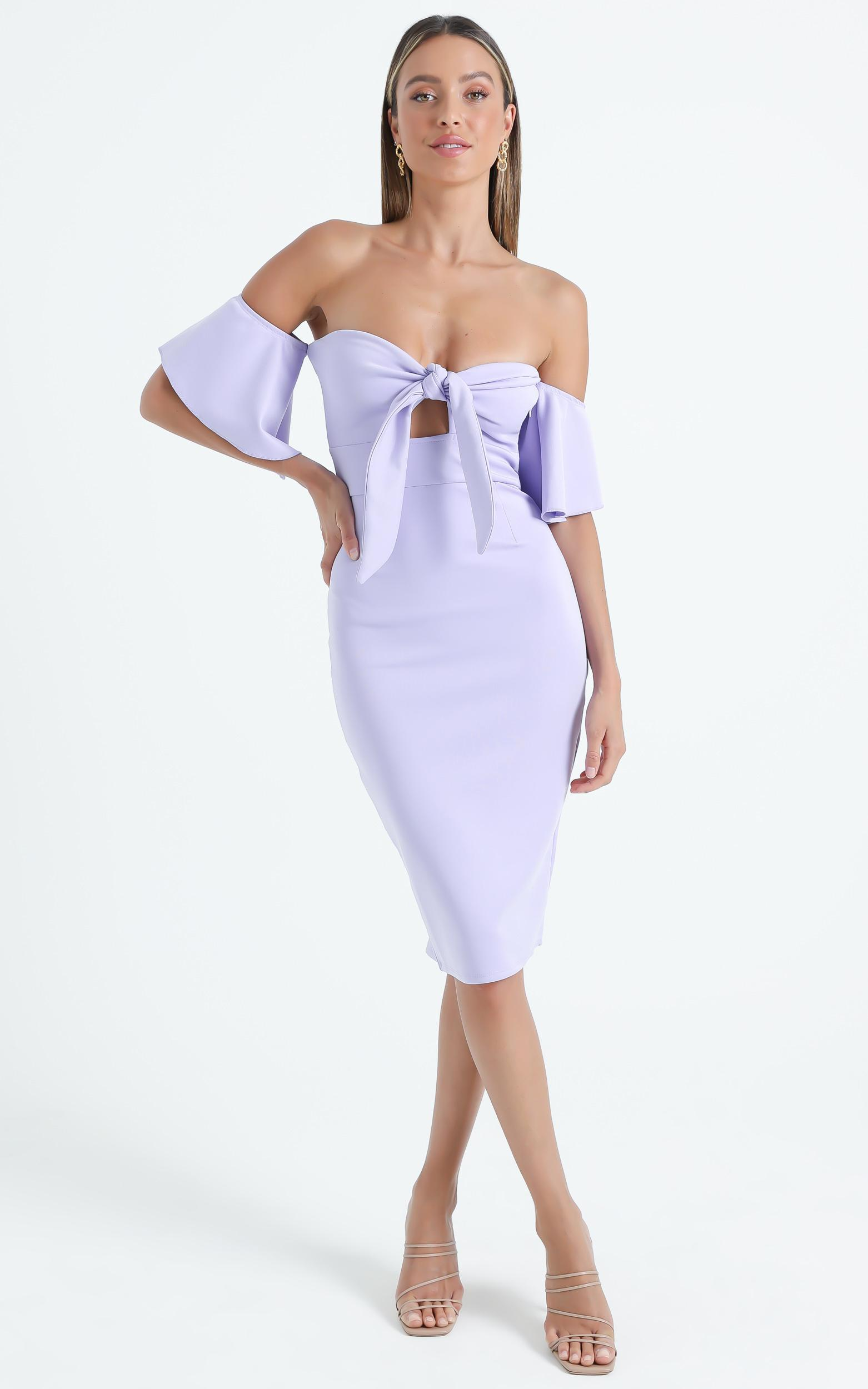 Guest Edit Dress in Lilac - 4 (XXS), PRP3, hi-res image number null