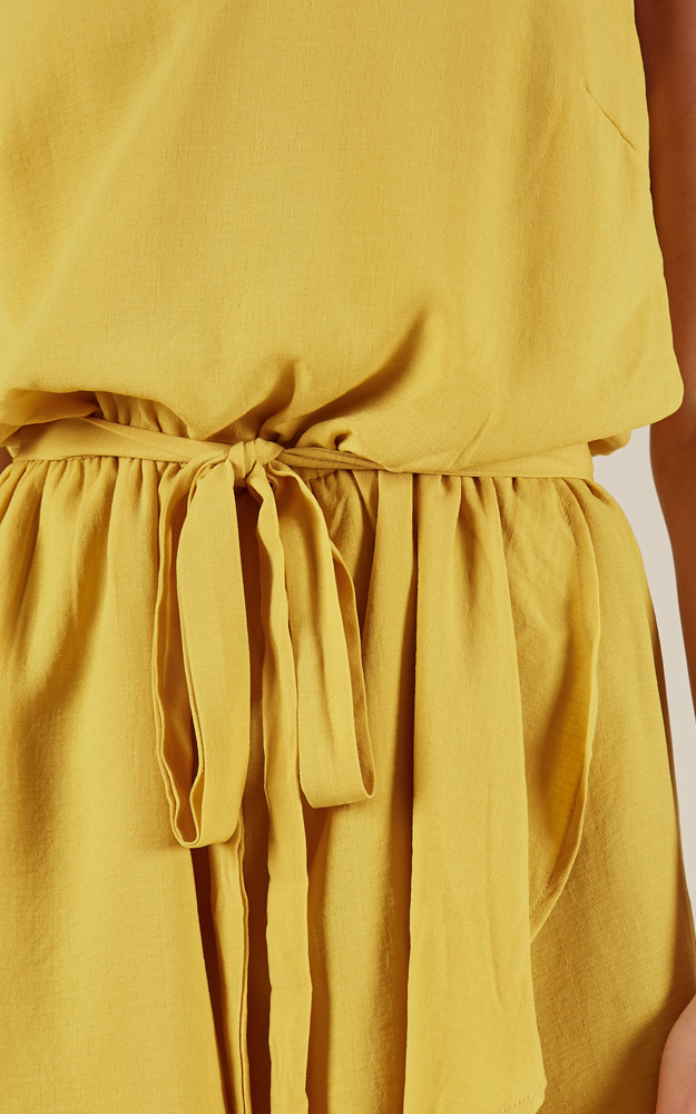 Feel The Beat playsuit in yellow - 12 (L), Yellow, hi-res image number null