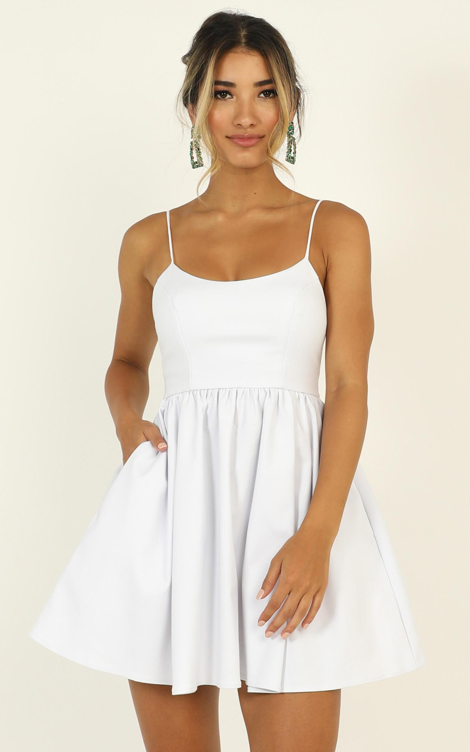 You Got Nothing To Prove Dress in white - 20 (XXXXL), White, hi-res image number null
