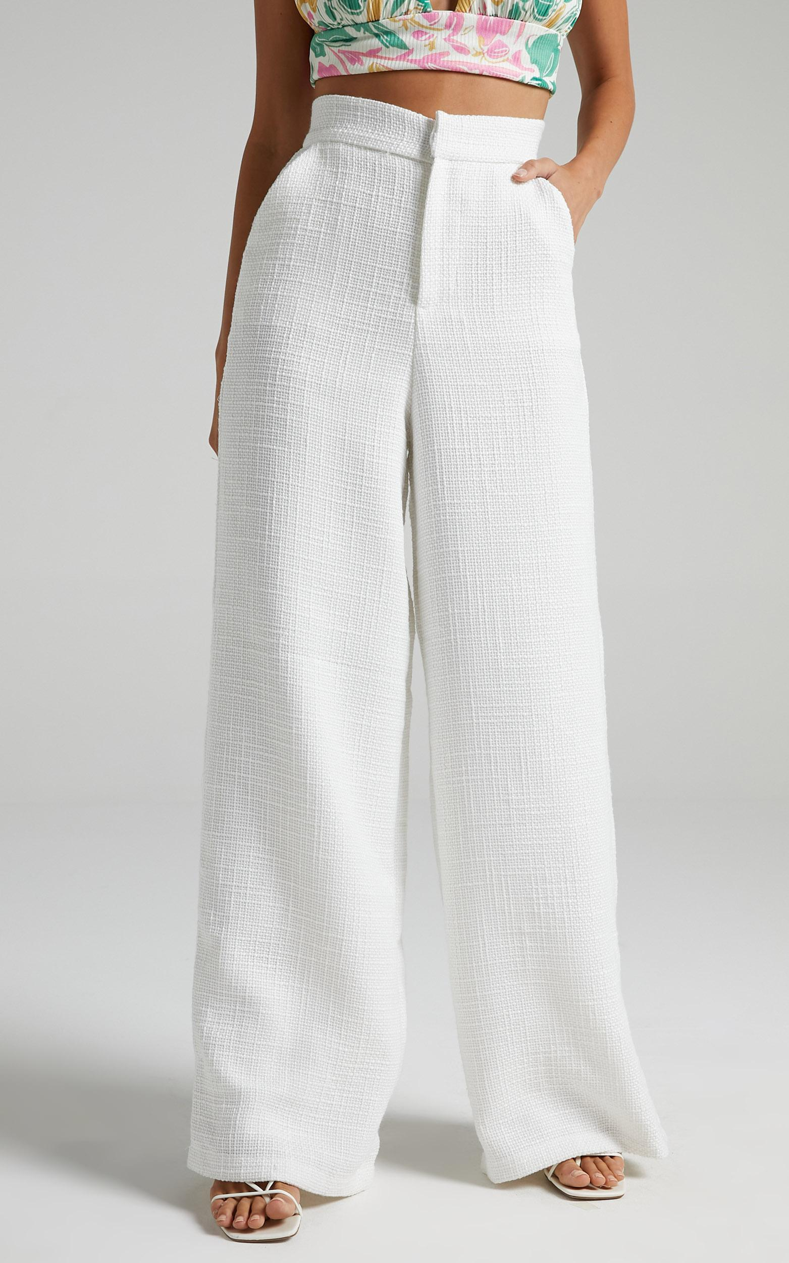 Walters Pants in White - 06, WHT2, hi-res image number null