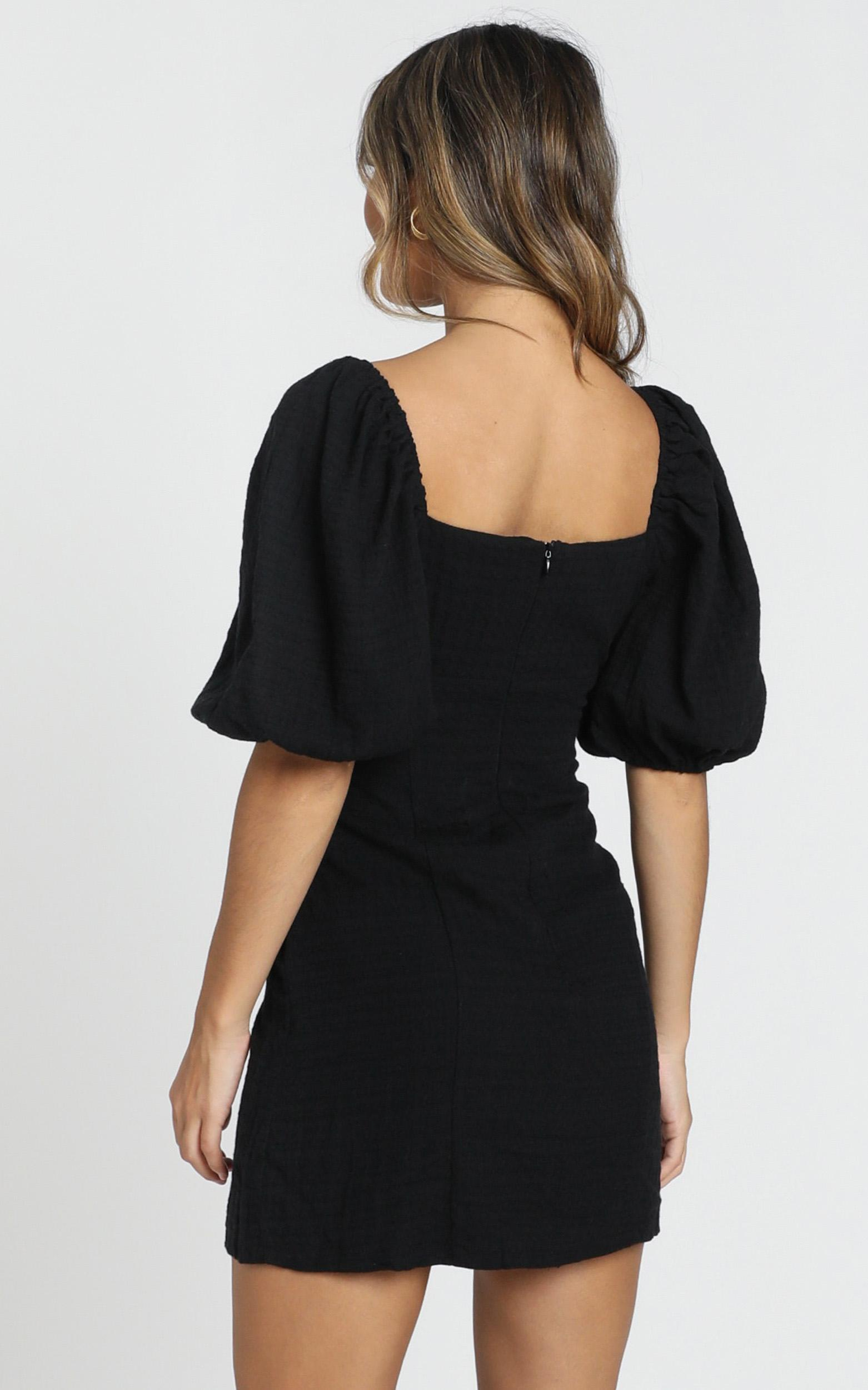 Electric Babe Dress in black - 20 (XXXXL), Black, hi-res image number null