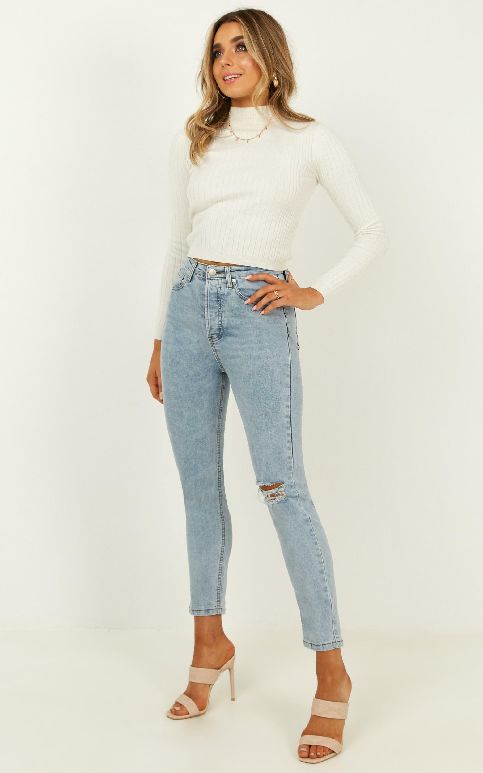 Jessie Jeans in light blue denim - 14 (XL), Blue, hi-res image number null