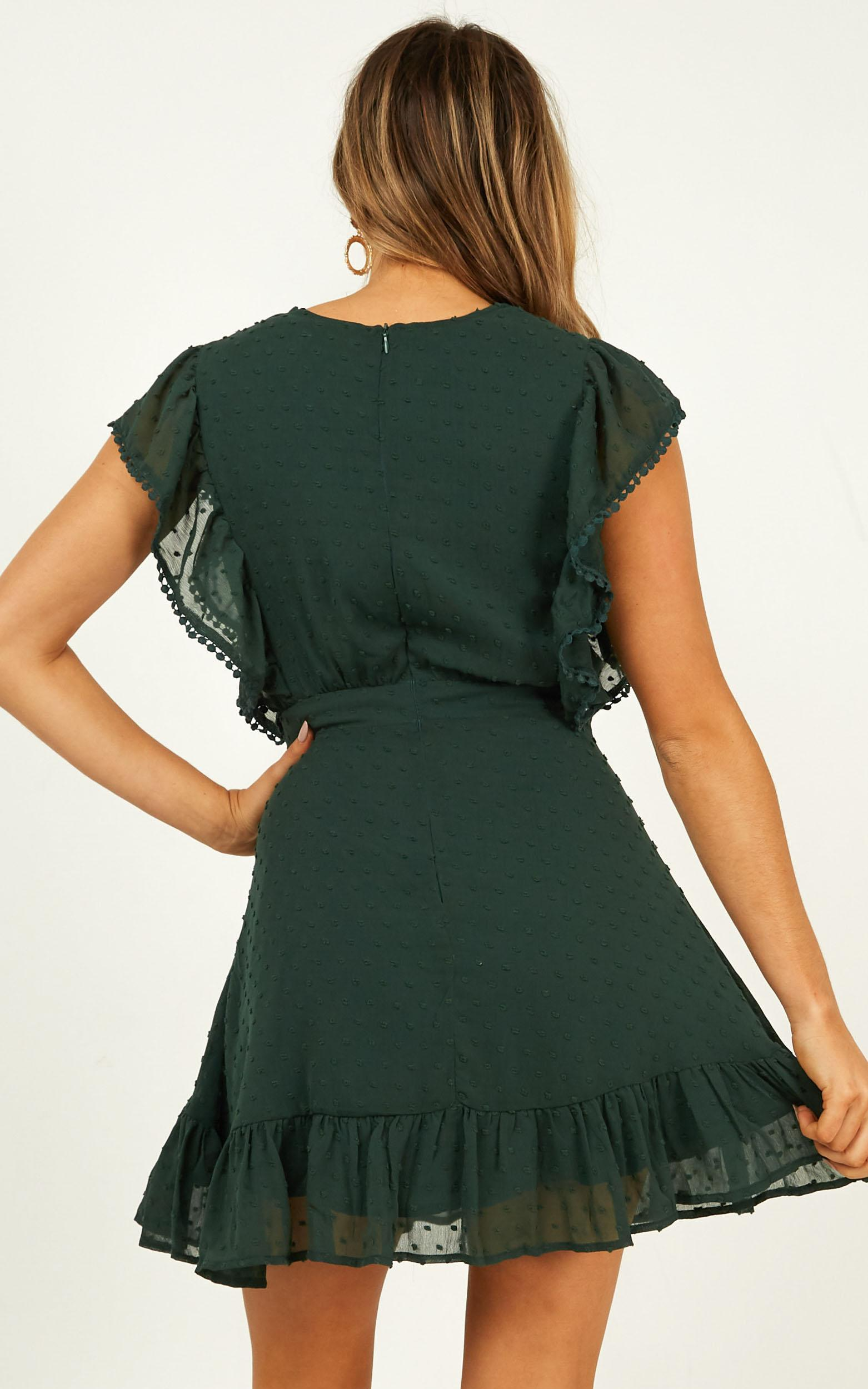 Living In the Moment Dress in emerald - 14 (XL), Green, hi-res image number null