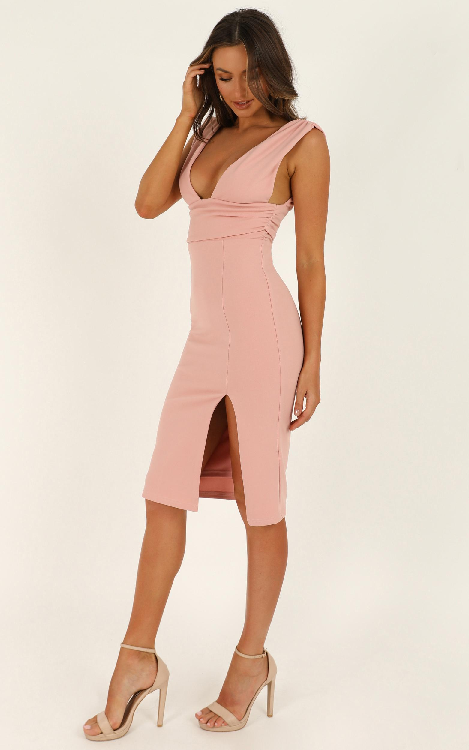 Dont Catch Feelings Dress in blush - 20 (XXXXL), Blush, hi-res image number null