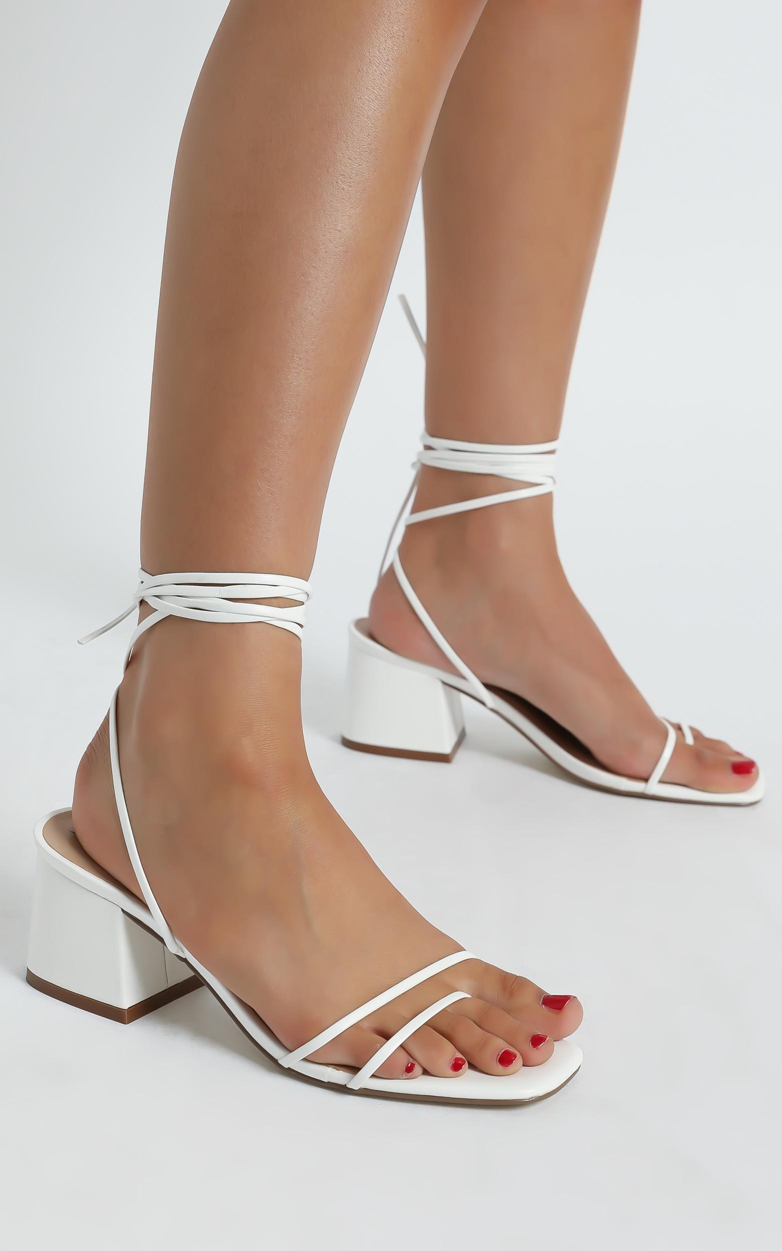 Therapy - Juniper Heels in White - 5, White, hi-res image number null