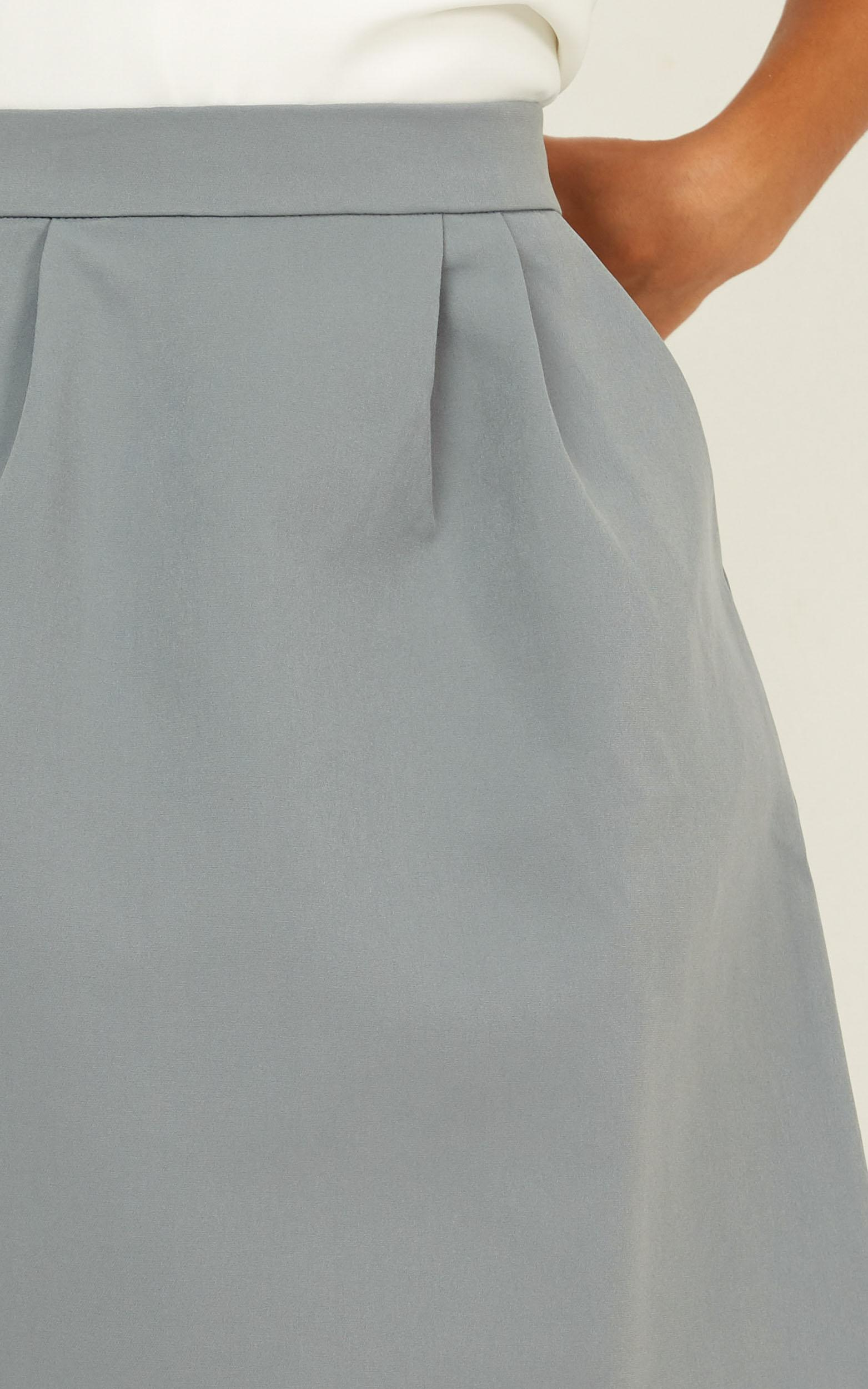 Crunch Time skirt in blue - 20 (XXXXL), Blue, hi-res image number null