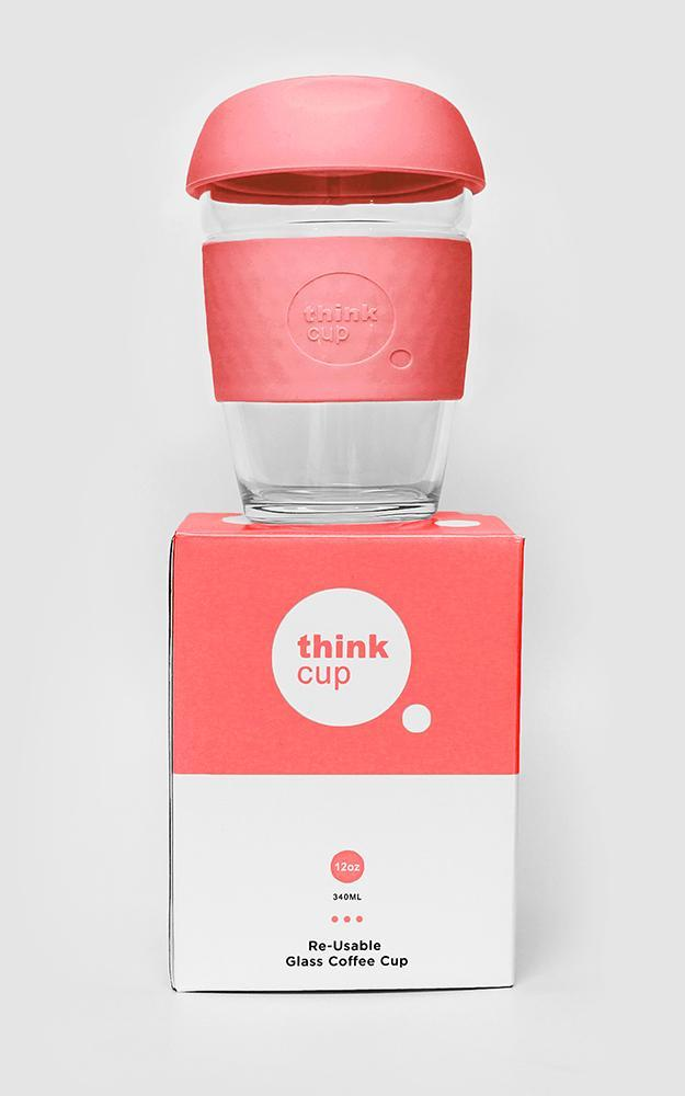 Think Cup in rose 8oz, Pink, hi-res image number null