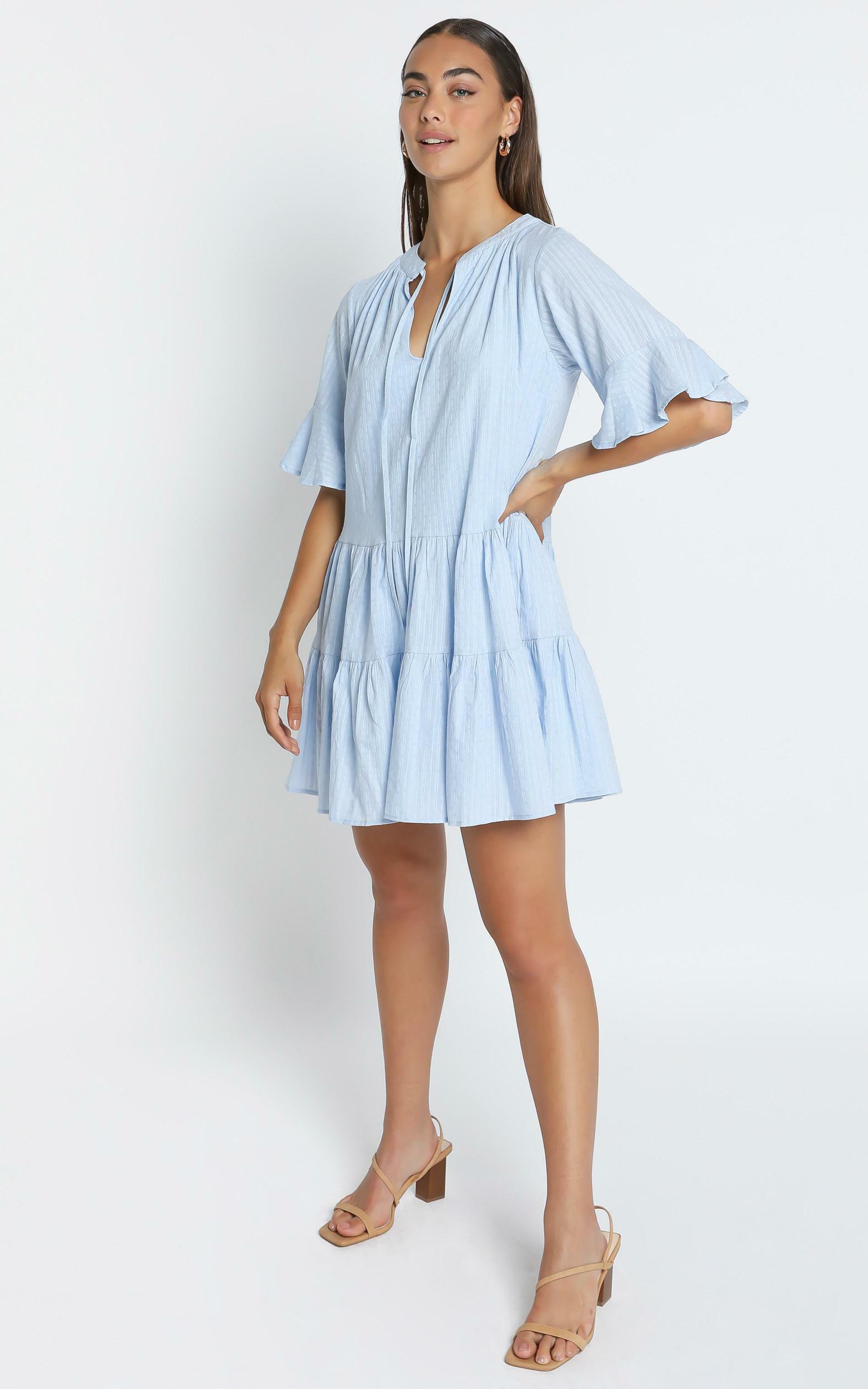 Best Memories Dress In Blue - 6 (XS), Blue, hi-res image number null