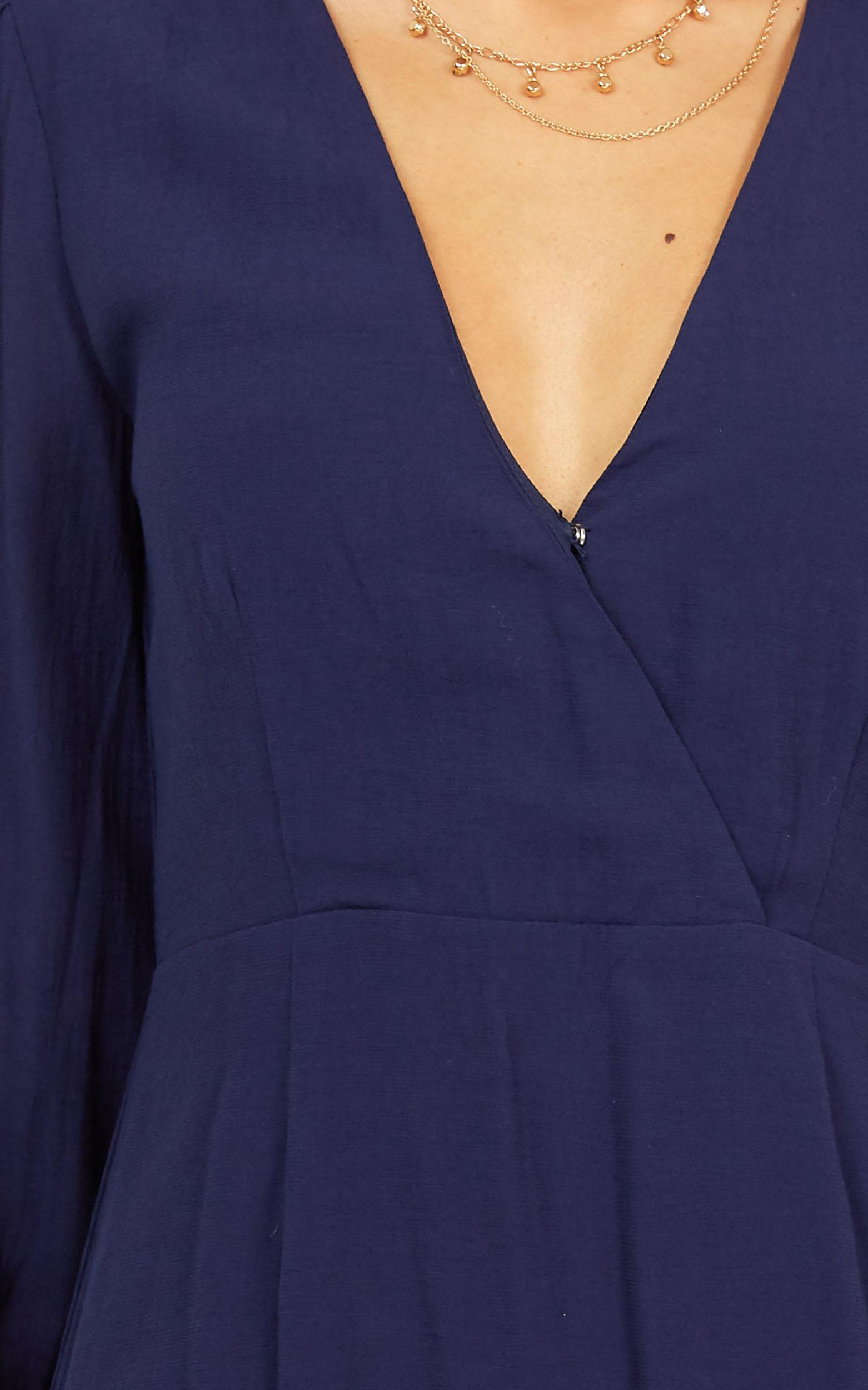 Fire Side Dress in navy - 20 (XXXXL), Navy, hi-res image number null