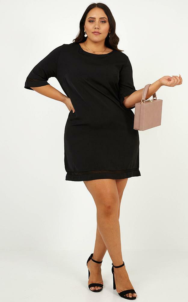 Miss Independent dress in  black - 6 (XS), Black, hi-res image number null
