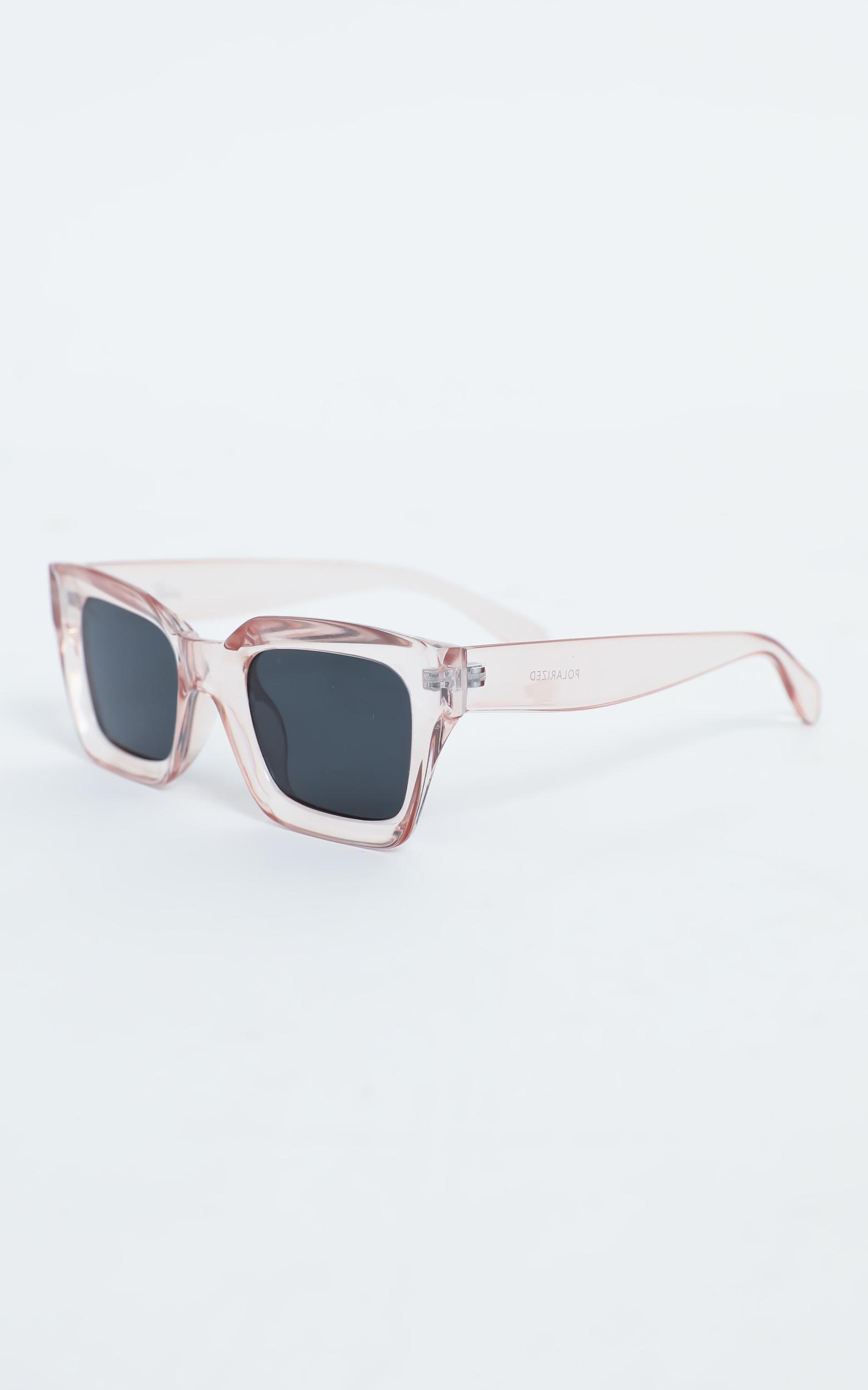 Reality Eyewear - Onassis Sunglasses in Berry, Pink, hi-res image number null
