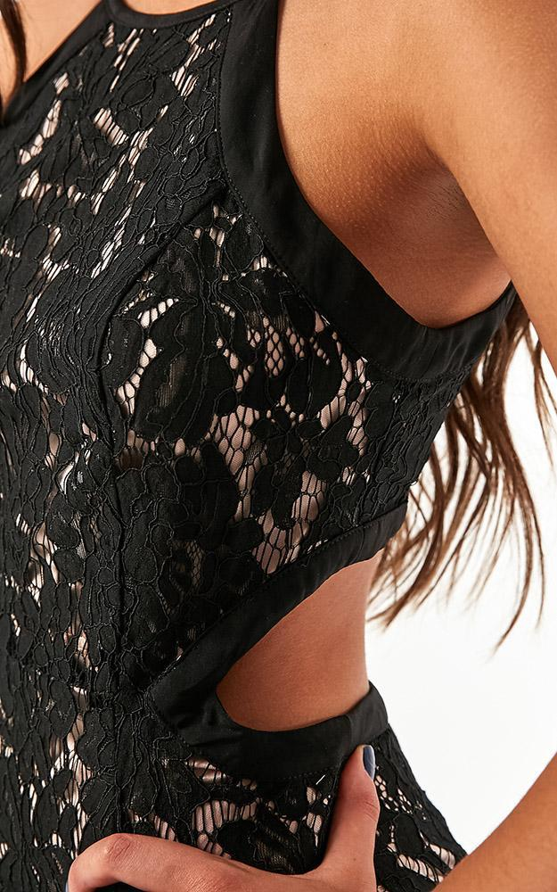 Im Good dress in black lace - 12 (L), Black, hi-res image number null