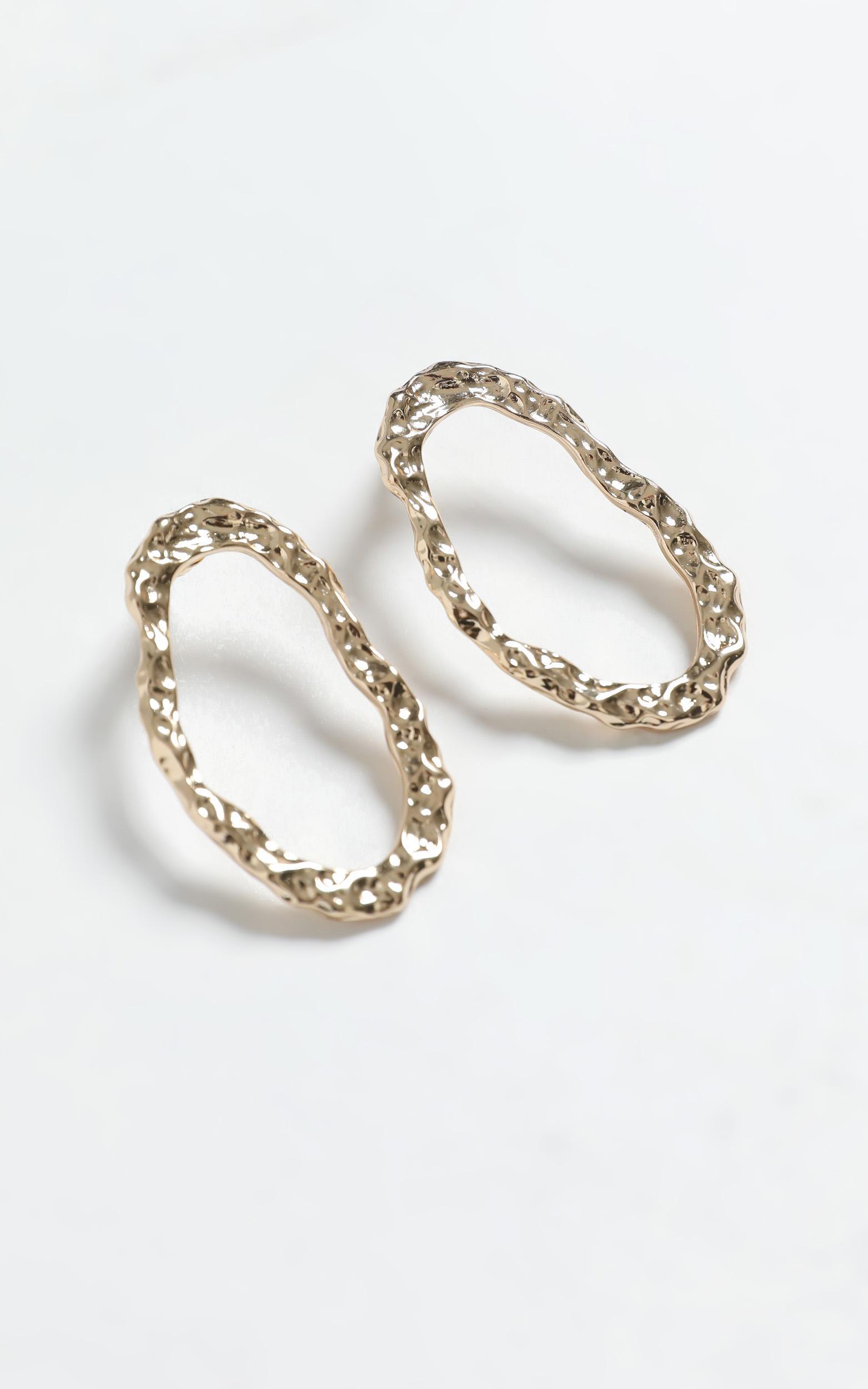 Inge Earrings in Gold, , hi-res image number null