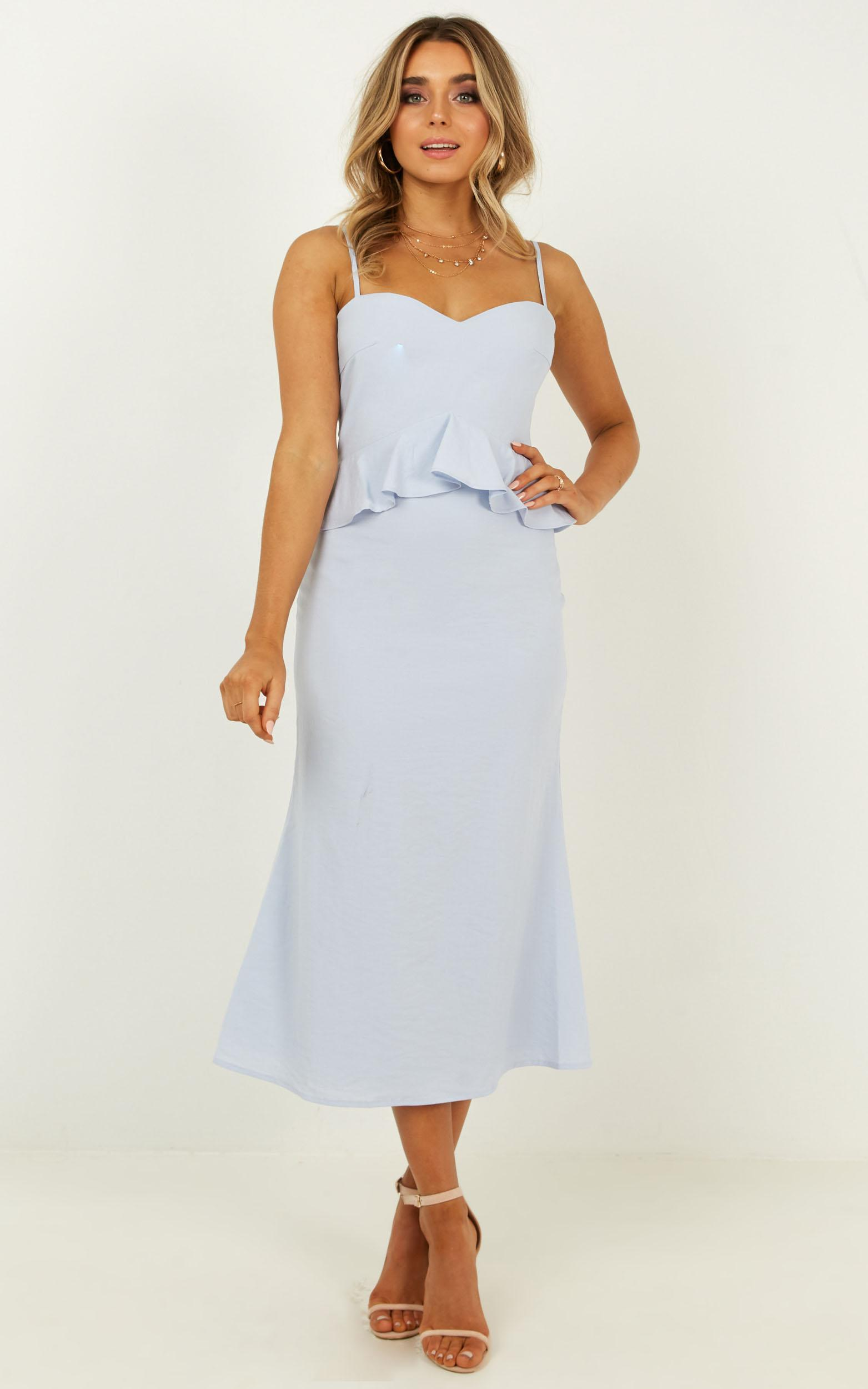 Tuesday blues dress in pale blue - 20 (XXXXL), Blue, hi-res image number null