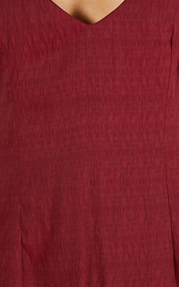 Win Or Lose dress in wine - 14 (XL), Wine, hi-res image number null
