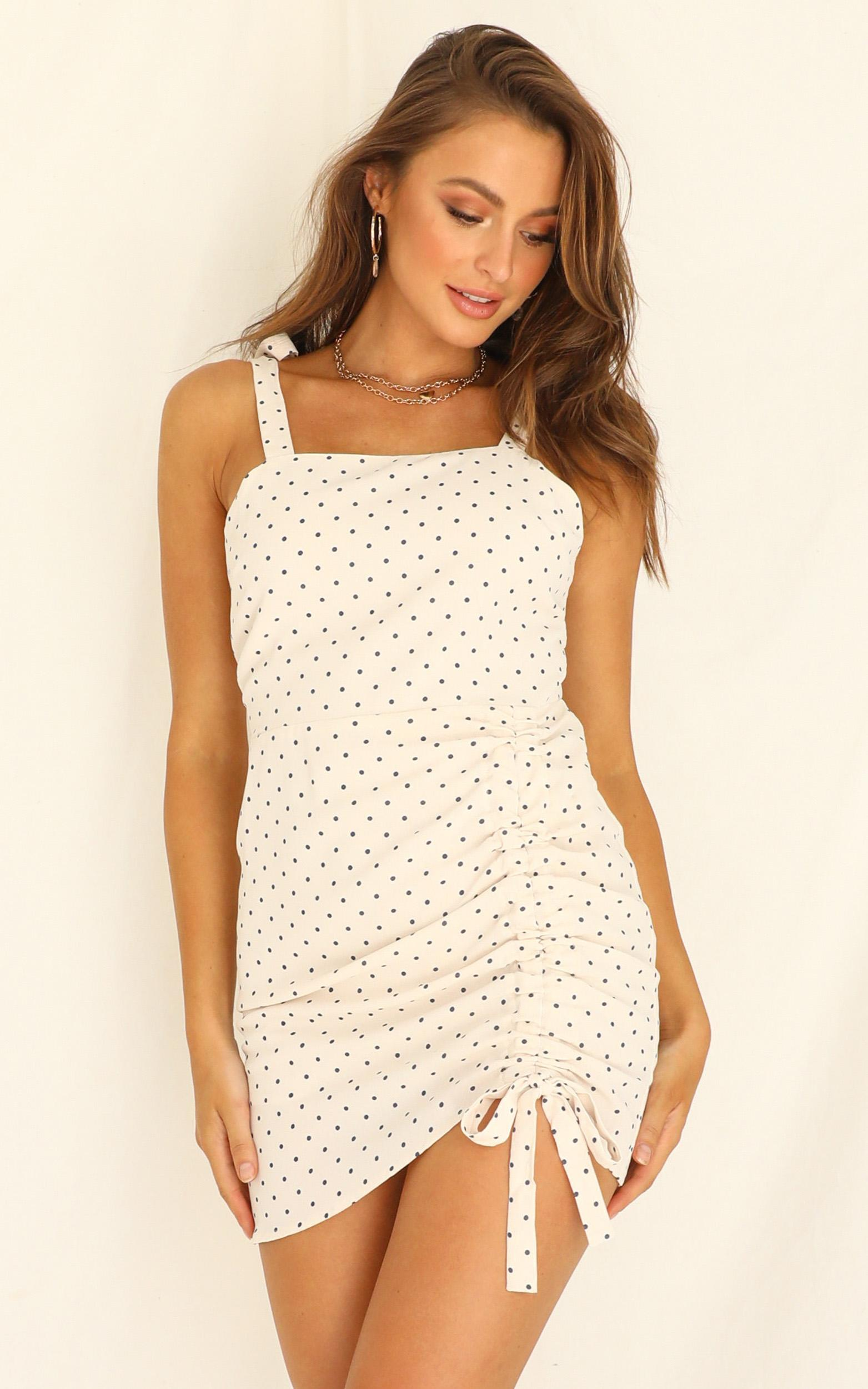 Love So Sweet dress in white spot - 12 (L), White, hi-res image number null