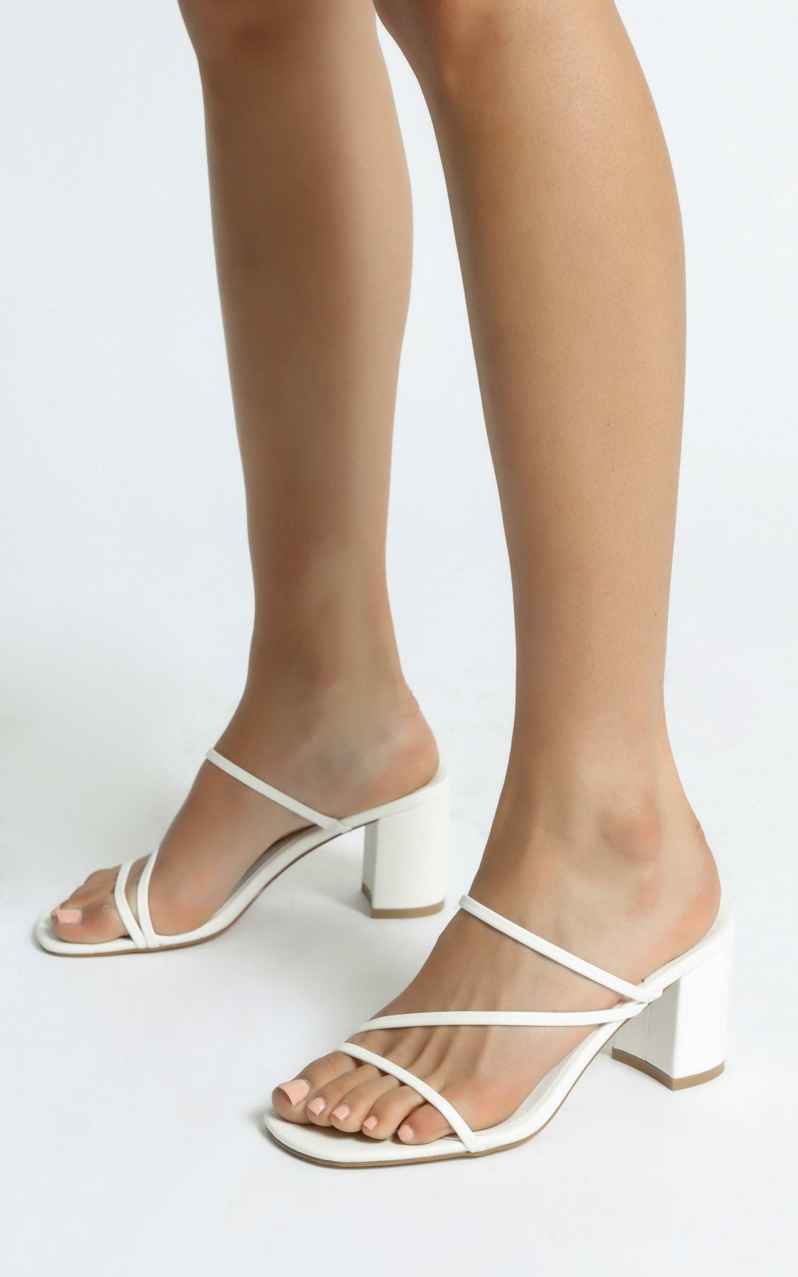 Billini - Yazmin Heels in White - 5, White, hi-res image number null